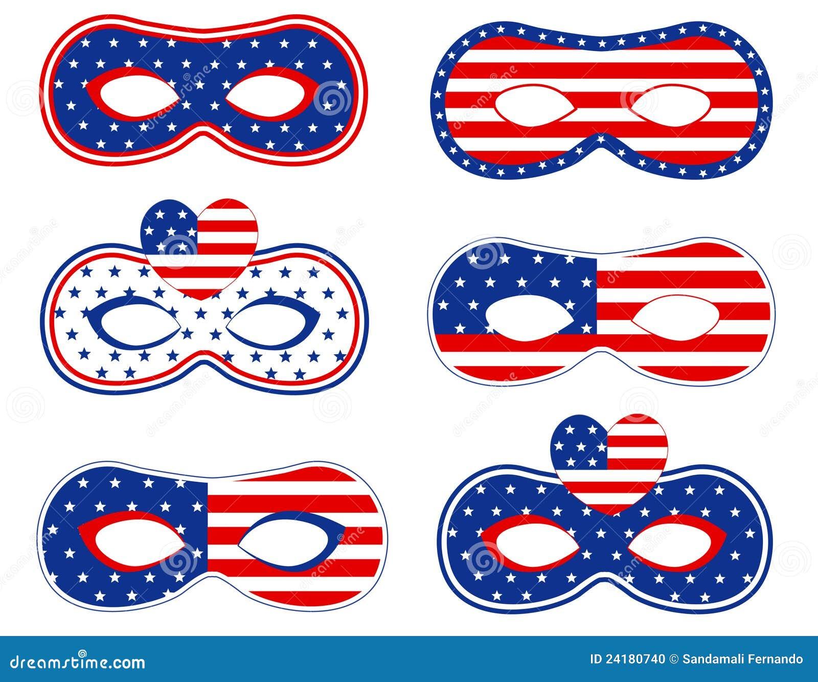 Patriotische Schablone