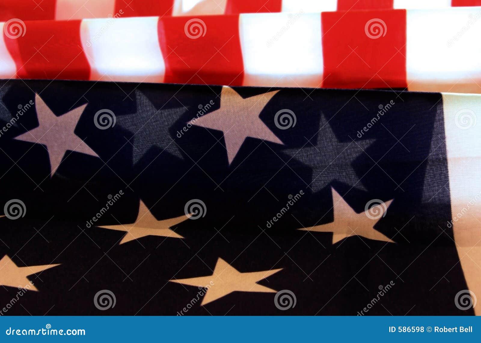 Patriotisk amerikanska flaggan
