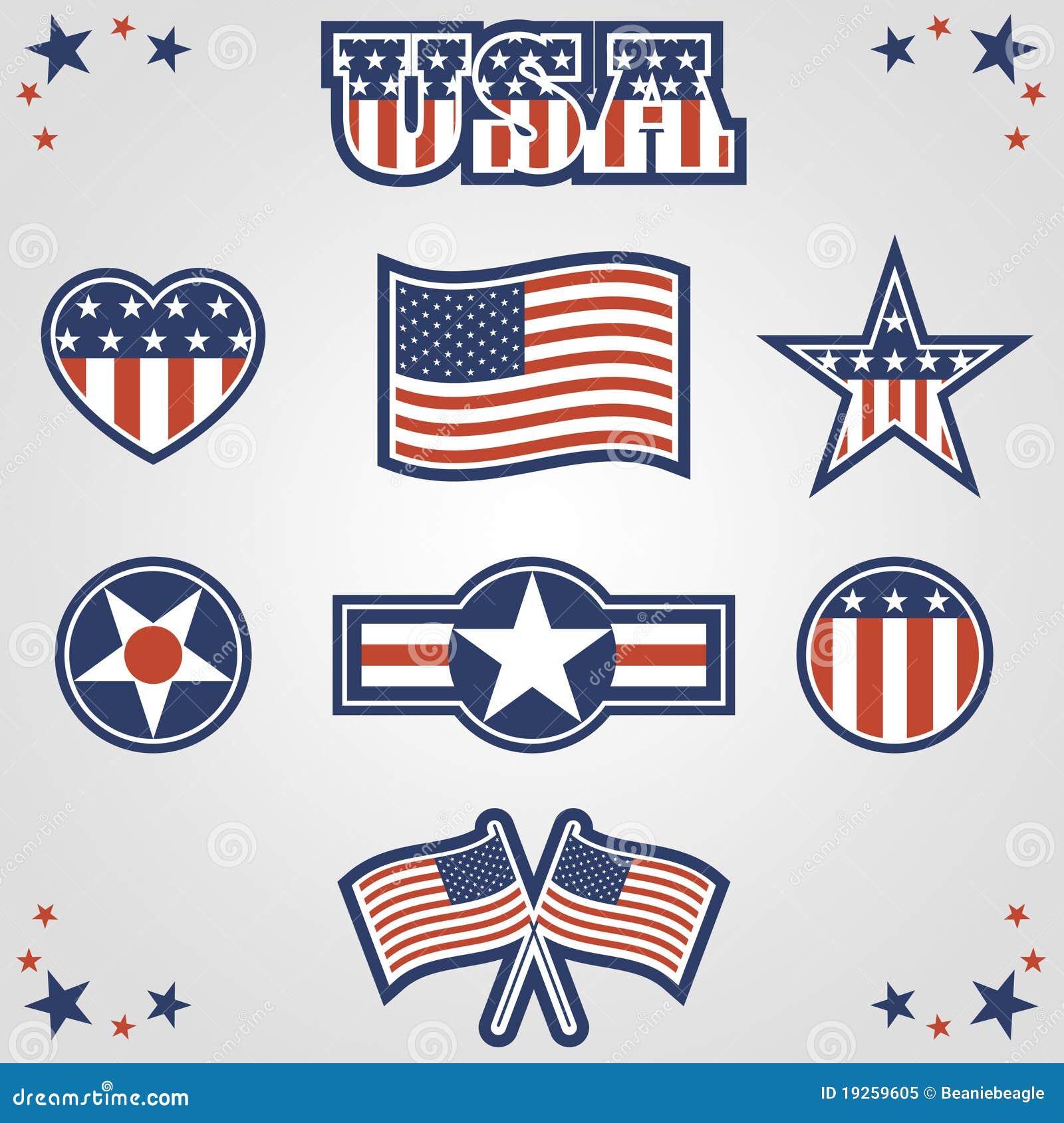 Patriottische Pictogrammen
