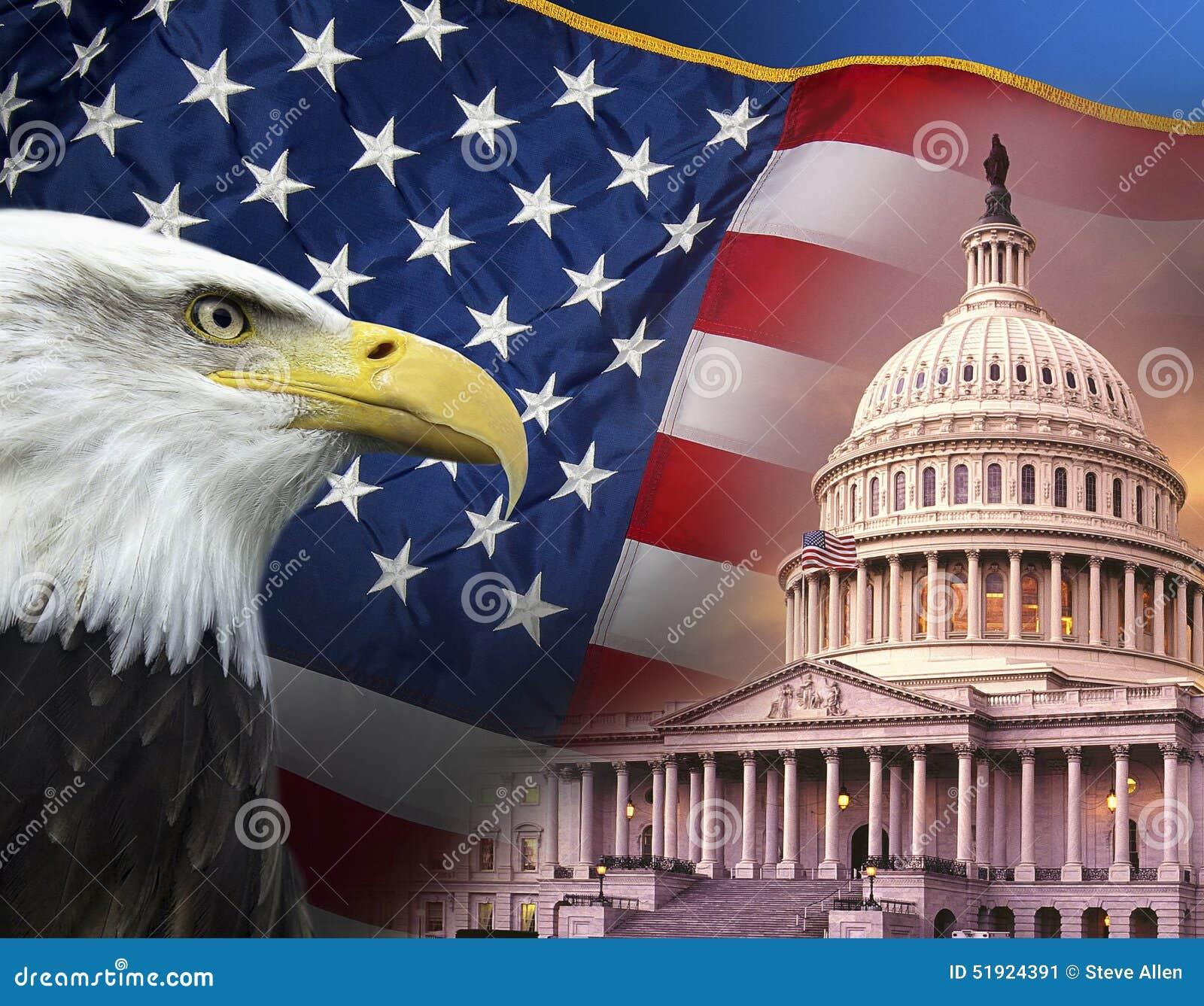 Patriottische Symbolen - de Verenigde Staten van Amerika