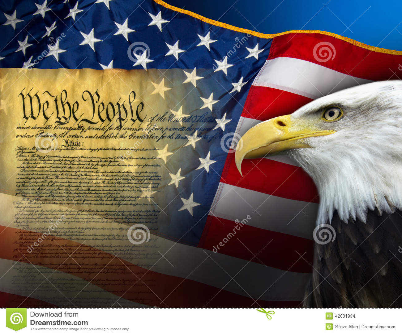 Patriotyczni symbole - Stany Zjednoczone Ameryka