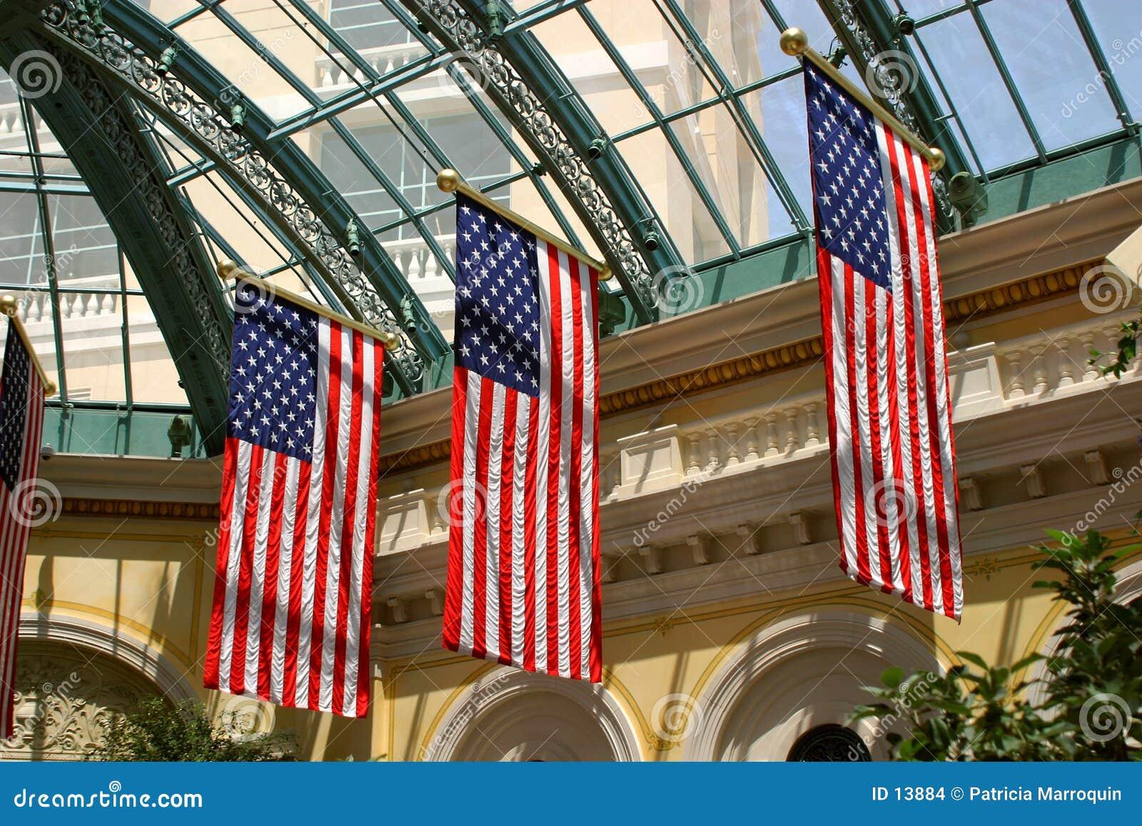 Patriotyczny ekspozycji