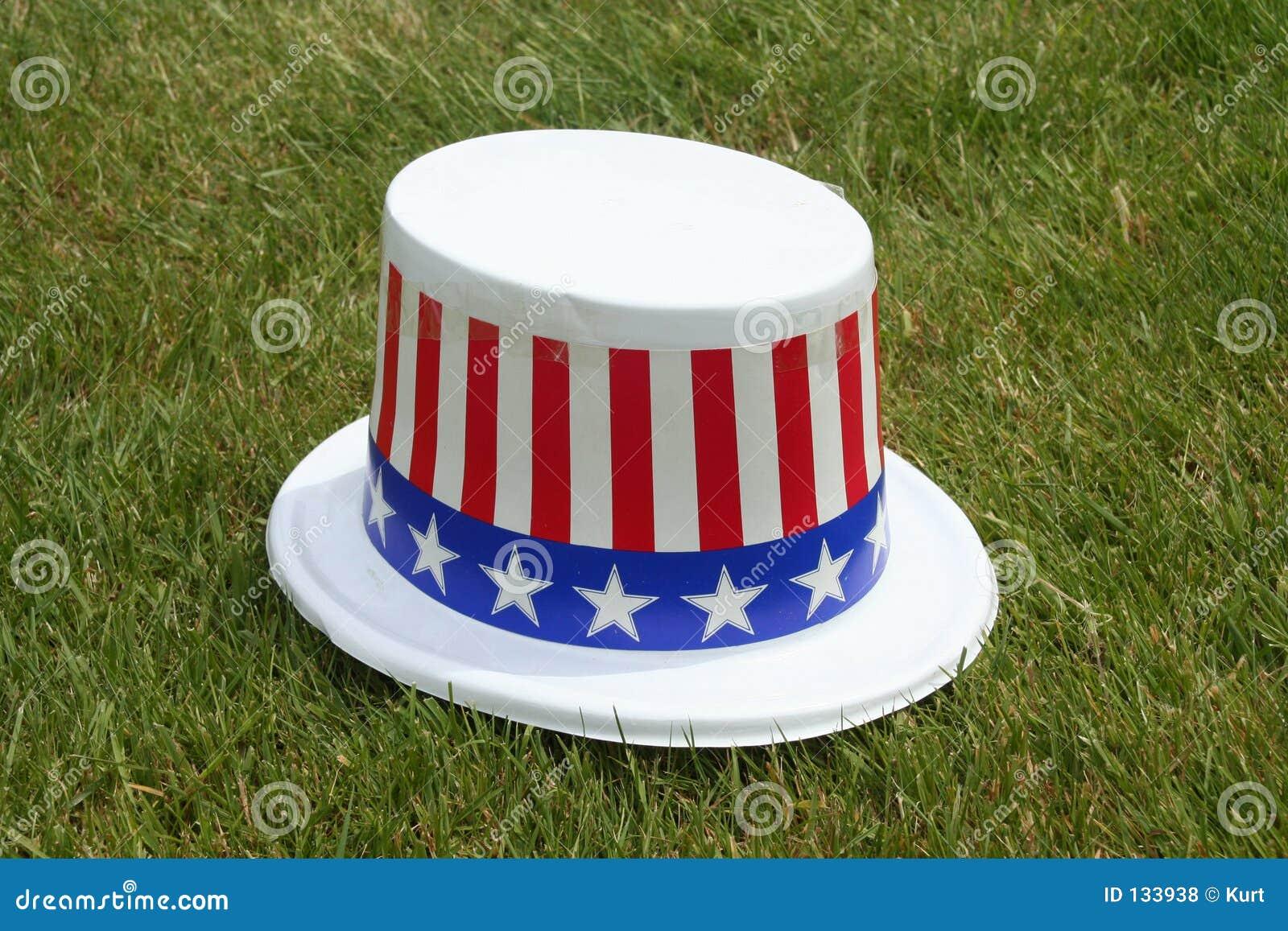 Patriotyczny kapelusz.