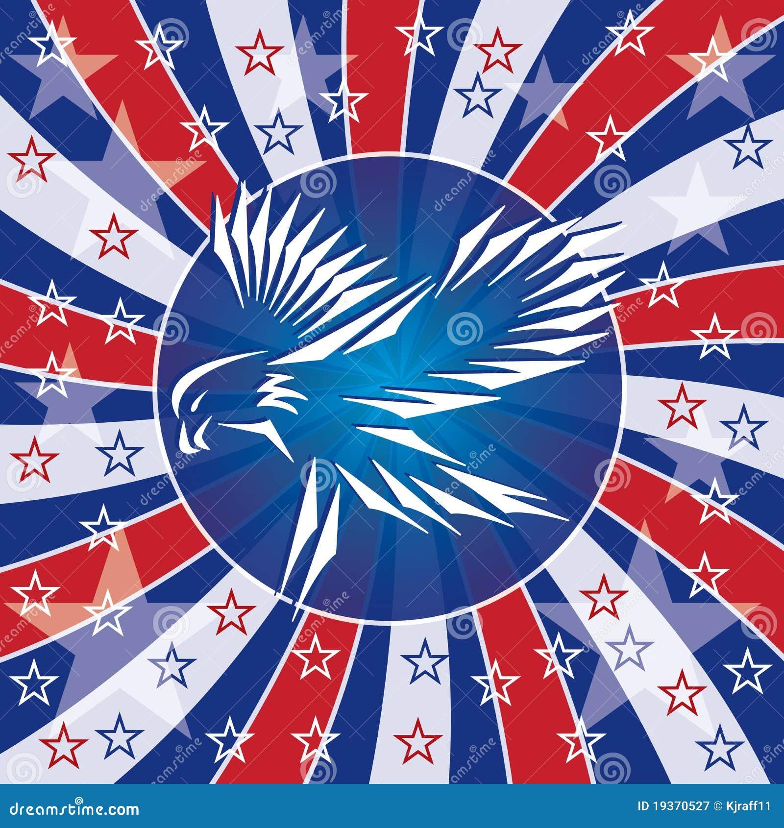 Patriotyczny sztandaru orzeł