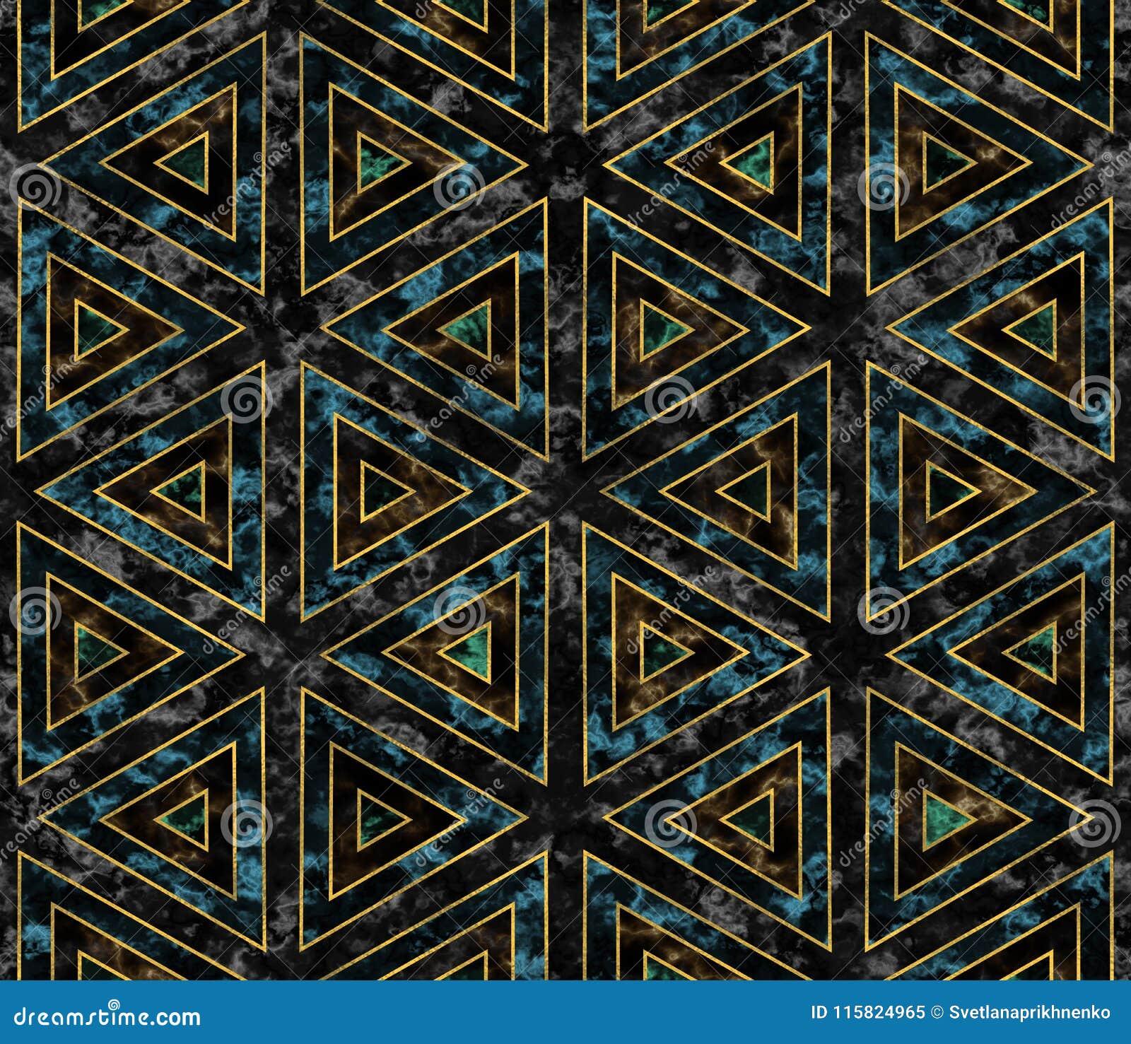 Patroon met marmer