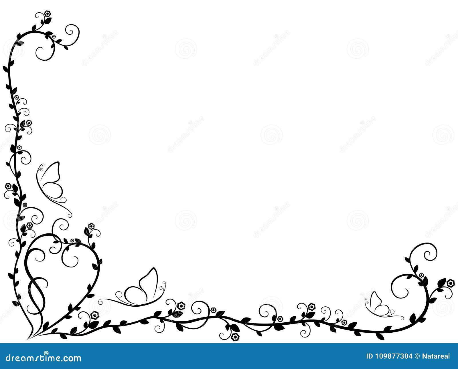 Patroon met overladen bloemenelementen