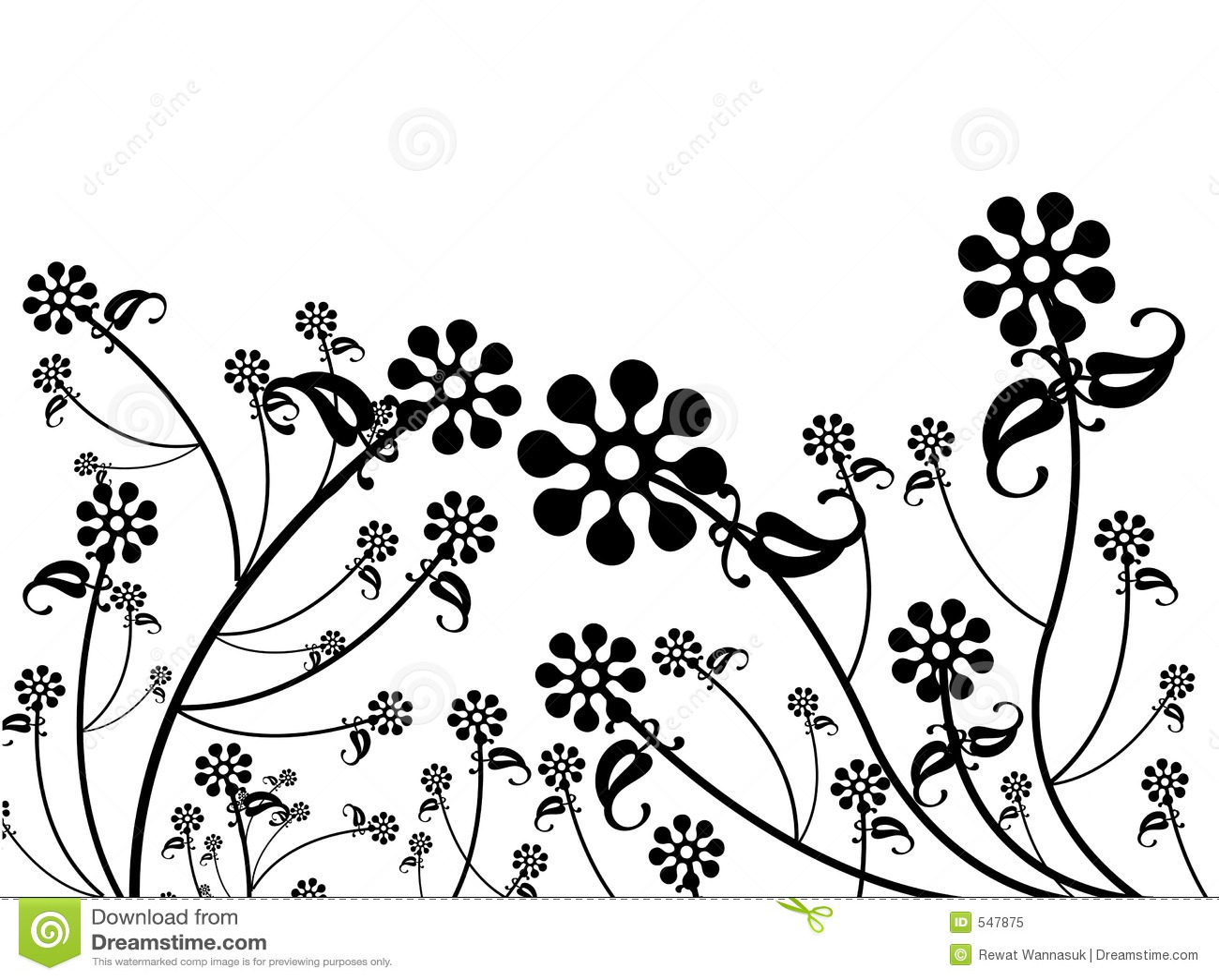 Patroon ontwerp van bloem