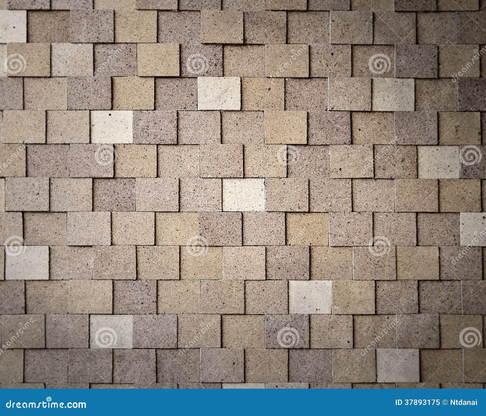 Patroon van moderne bakstenen muur
