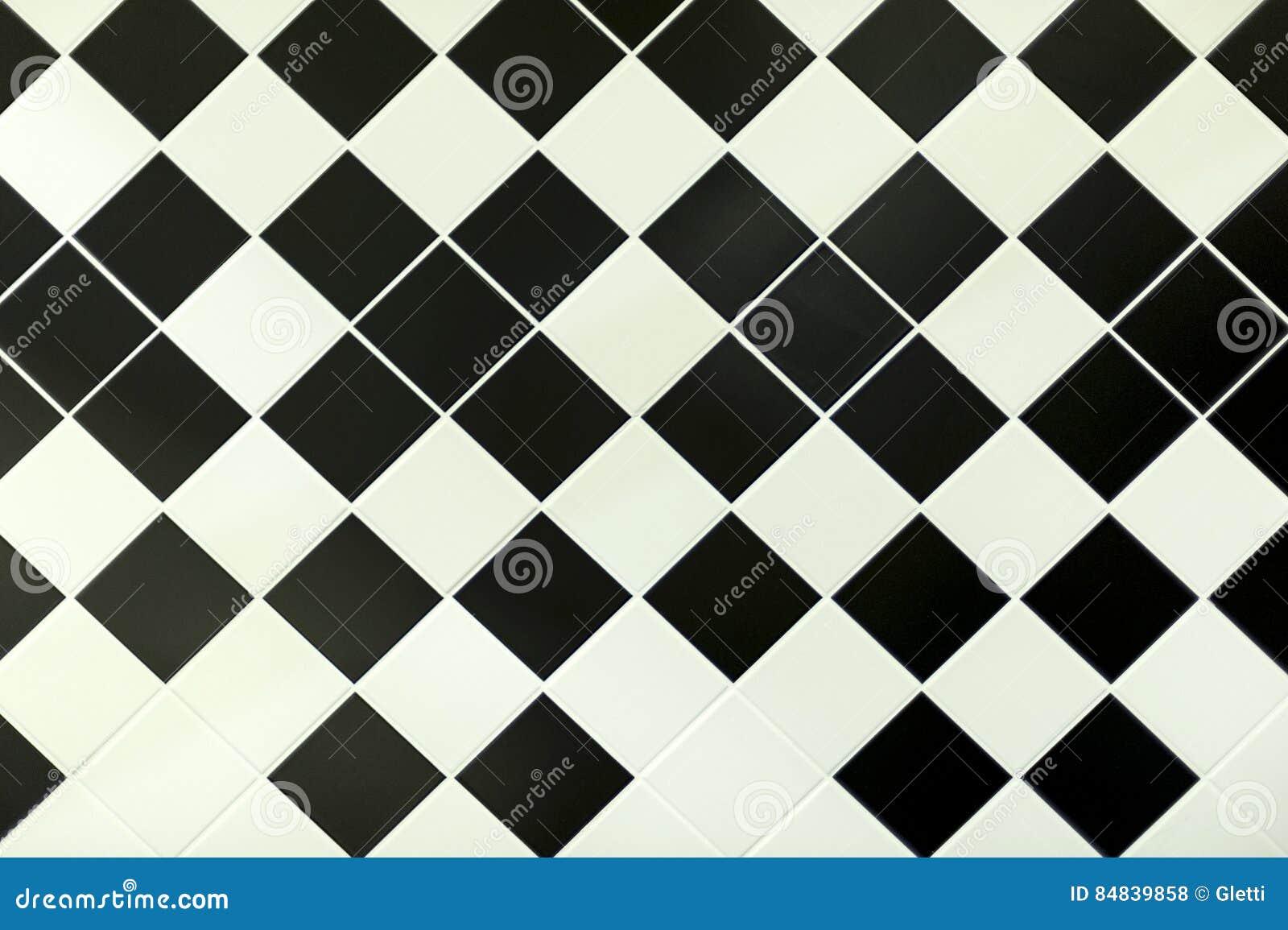 Zwart Witte Tegels : Patroon van zwart witte tegels stock foto afbeelding bestaande