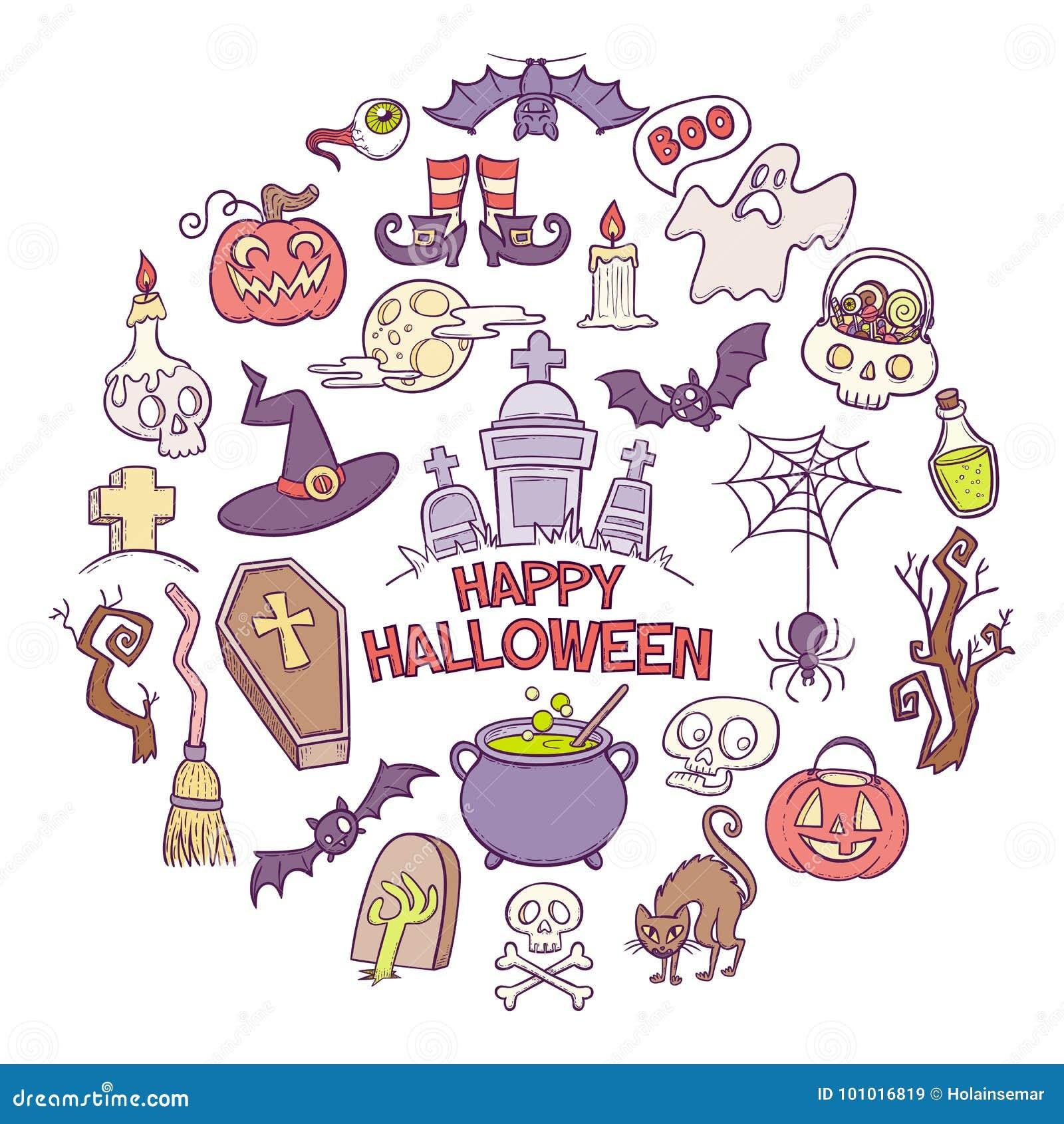 Patroszona elementów Halloween ręka