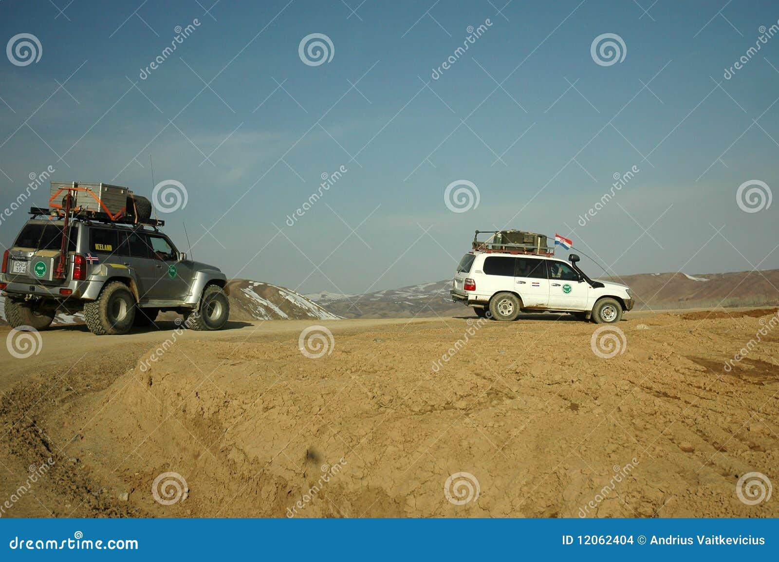 Patrouille de l Afghanistan