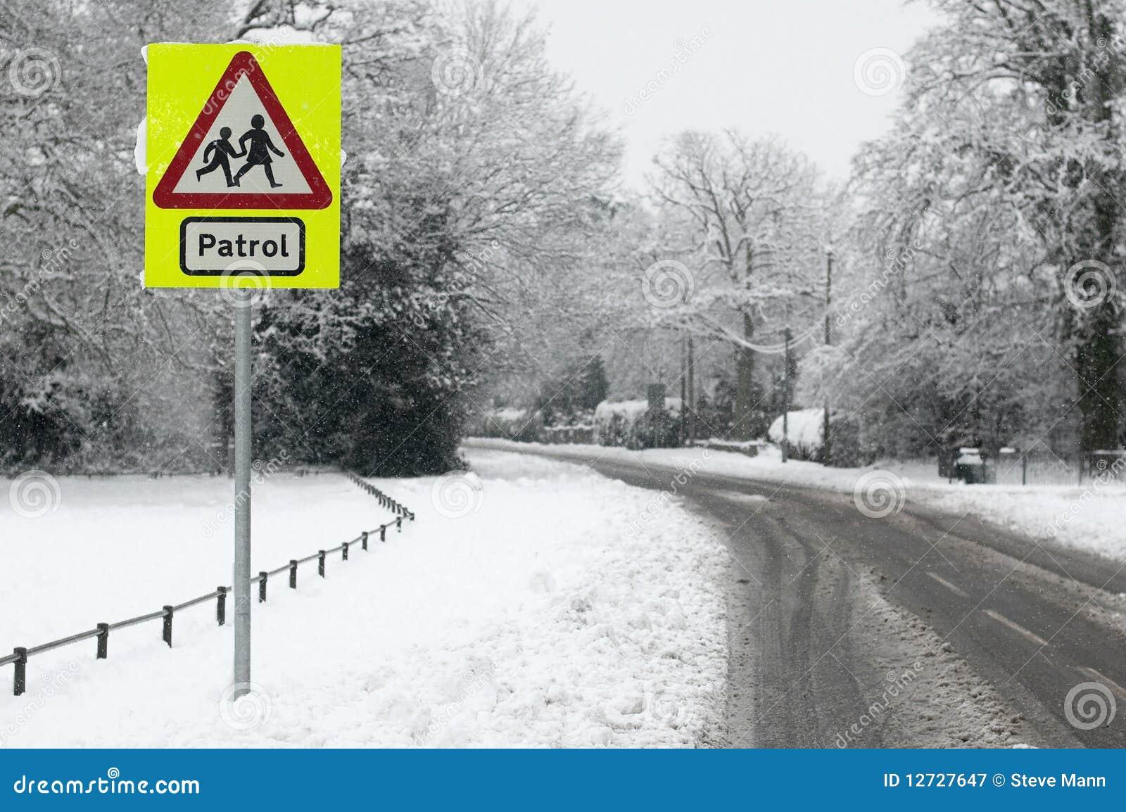 Patrouille de neige