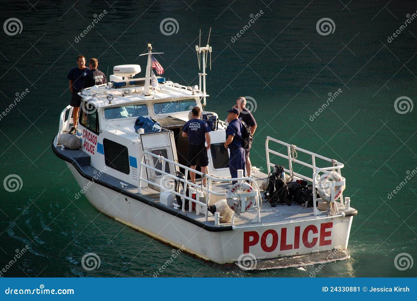 Patrouille marine d élément de Département de Police de Chicago