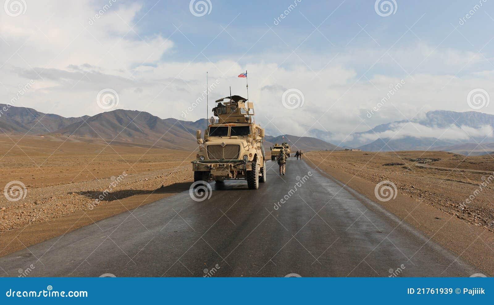 Patrouille tchèque en Afghanistan