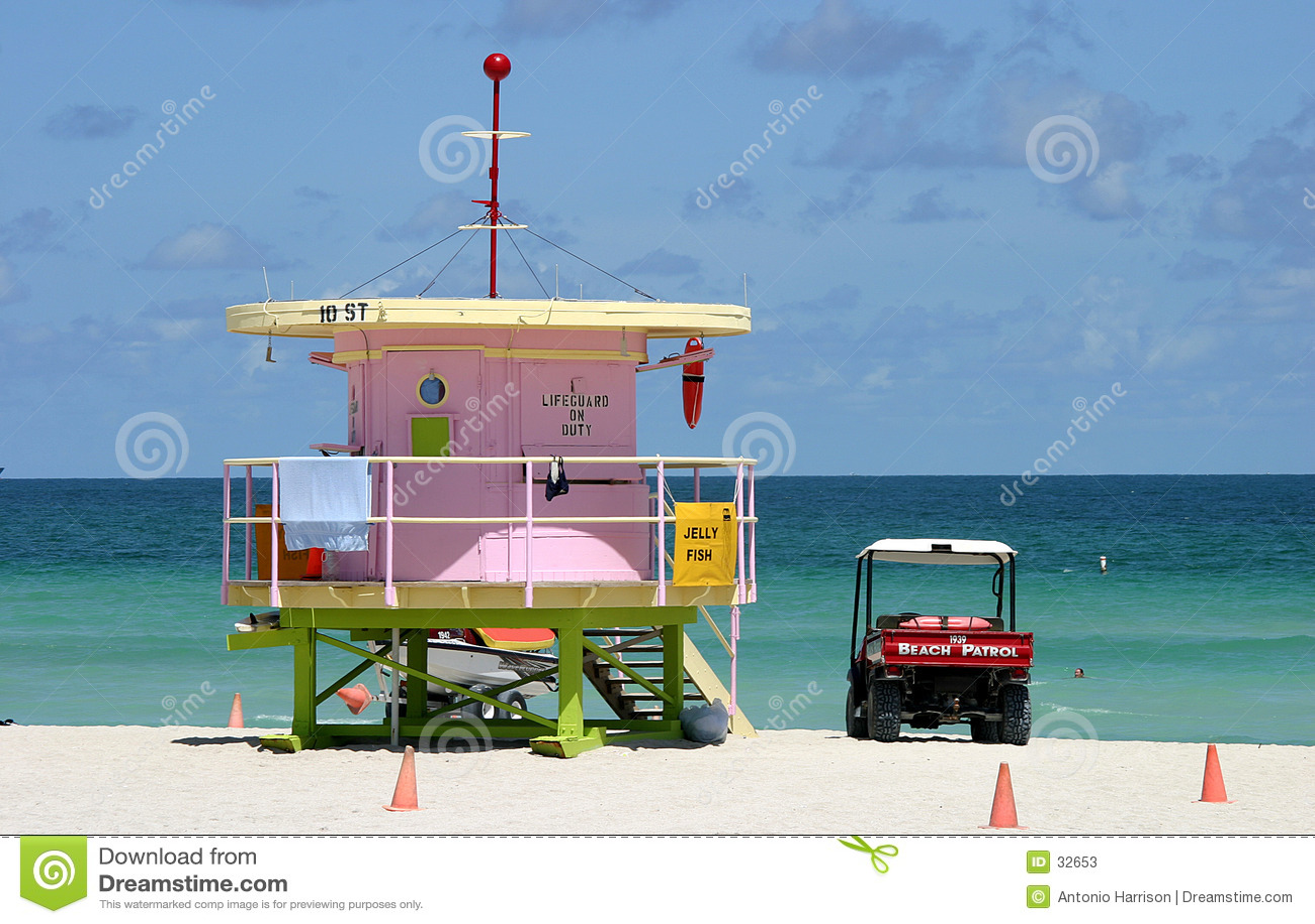Patrulha sul da praia