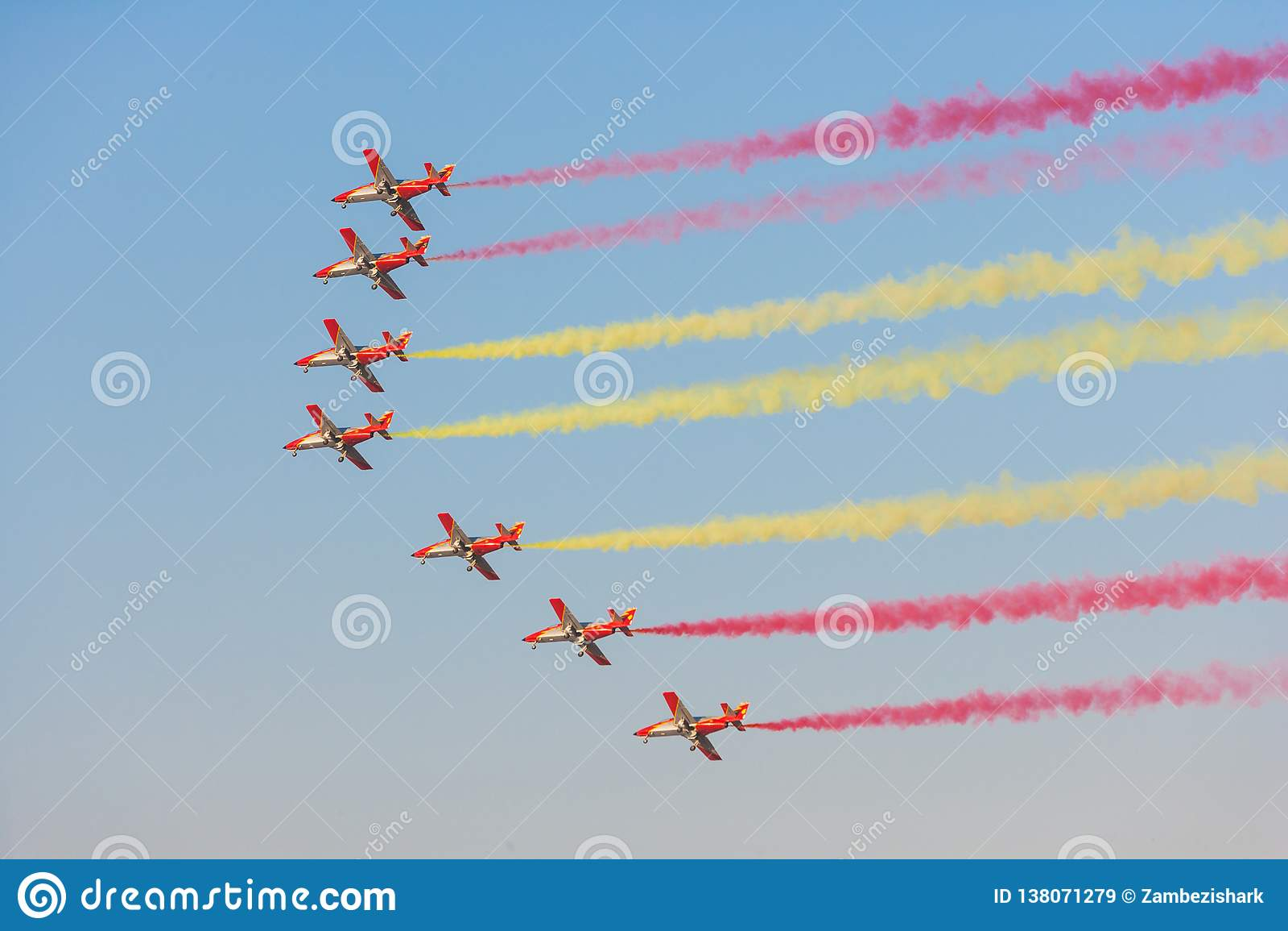Patrulla Aguila al Dubai Airshow
