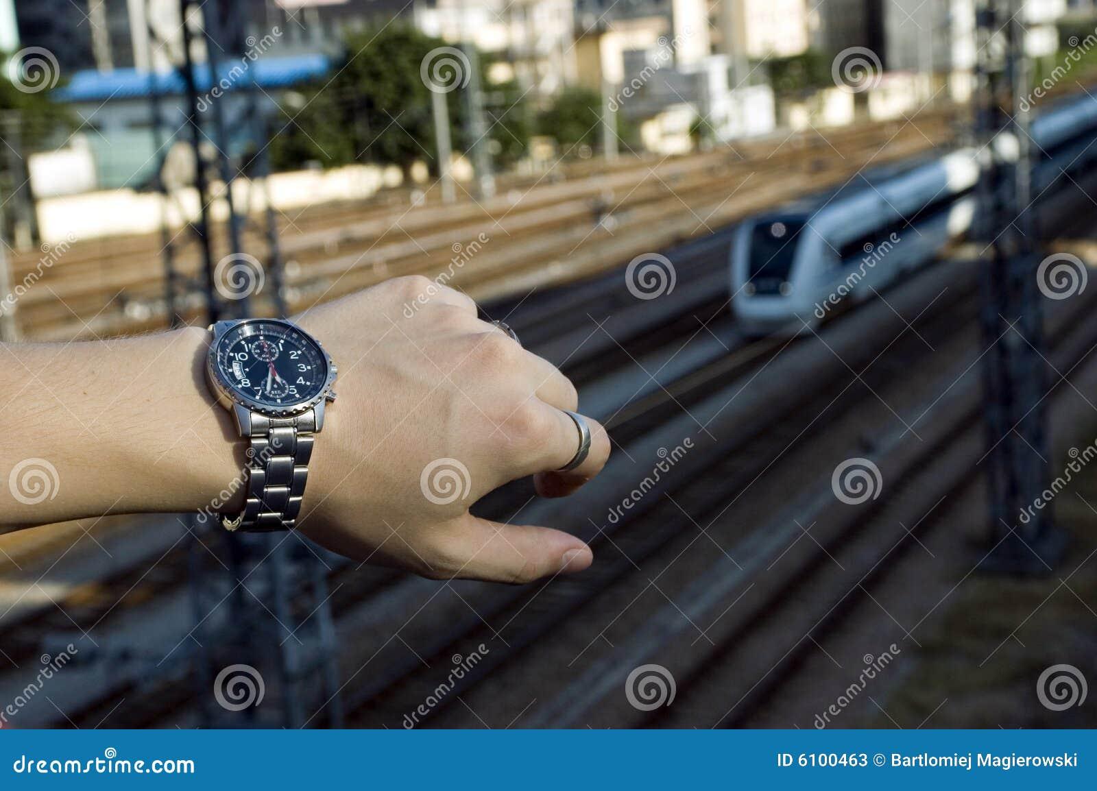 Patrz na pociąg