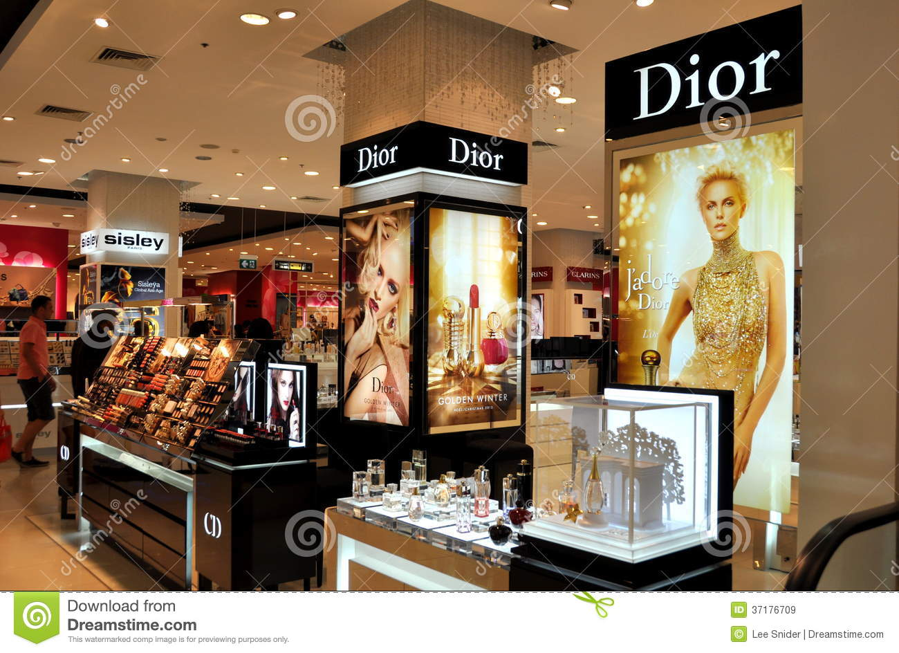 pattaya thailand dior cosmetics at festival mall editorial stock image image 37176709. Black Bedroom Furniture Sets. Home Design Ideas