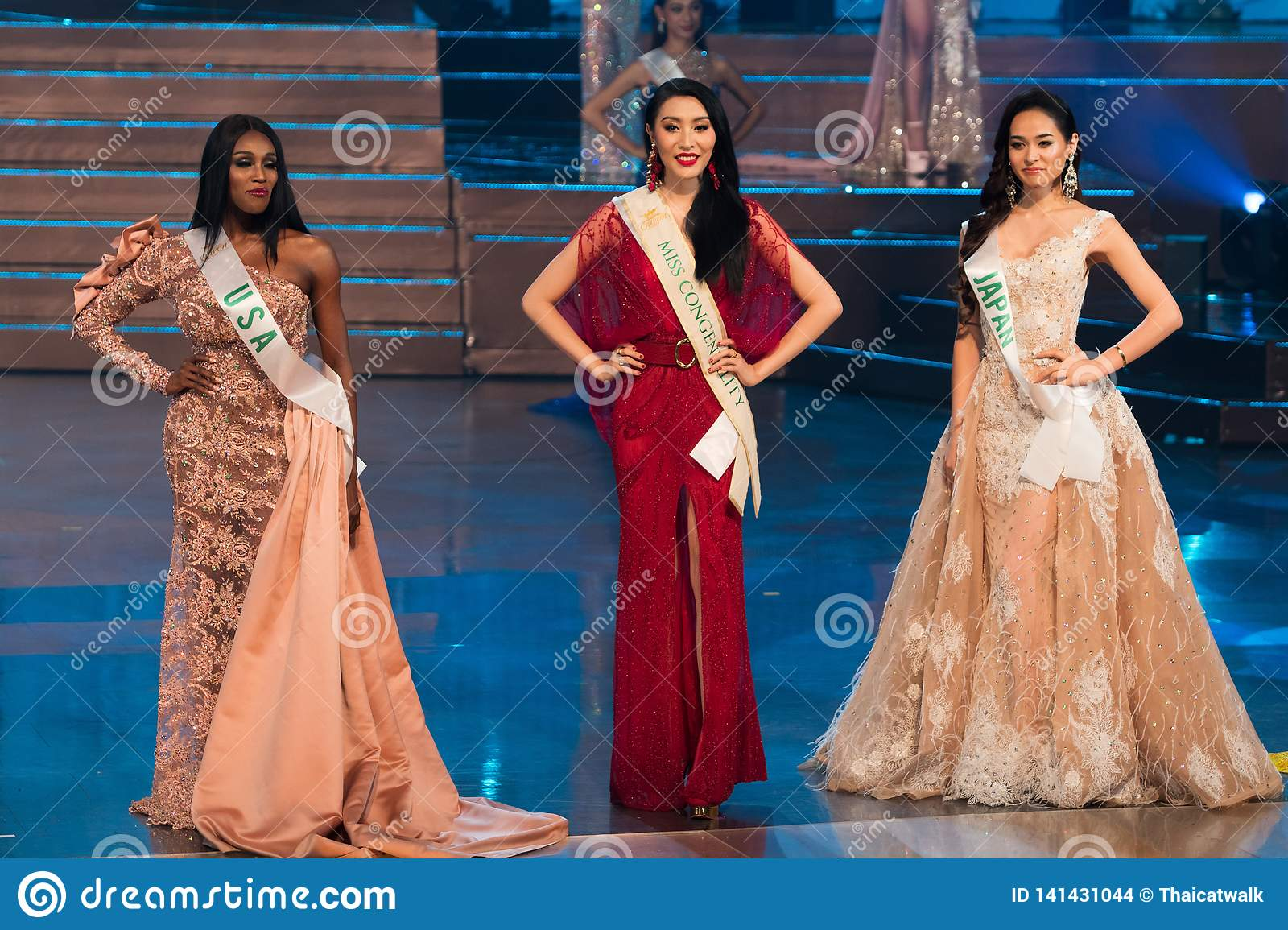 Miss International Queen Final Round Editorial Stock Image - Image