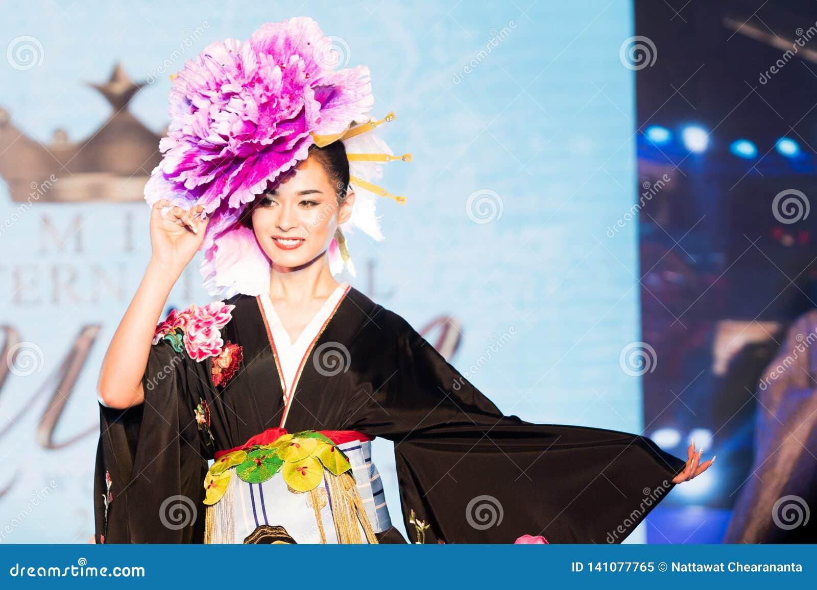 Miss International Queen, Famous Transgender Editorial Image