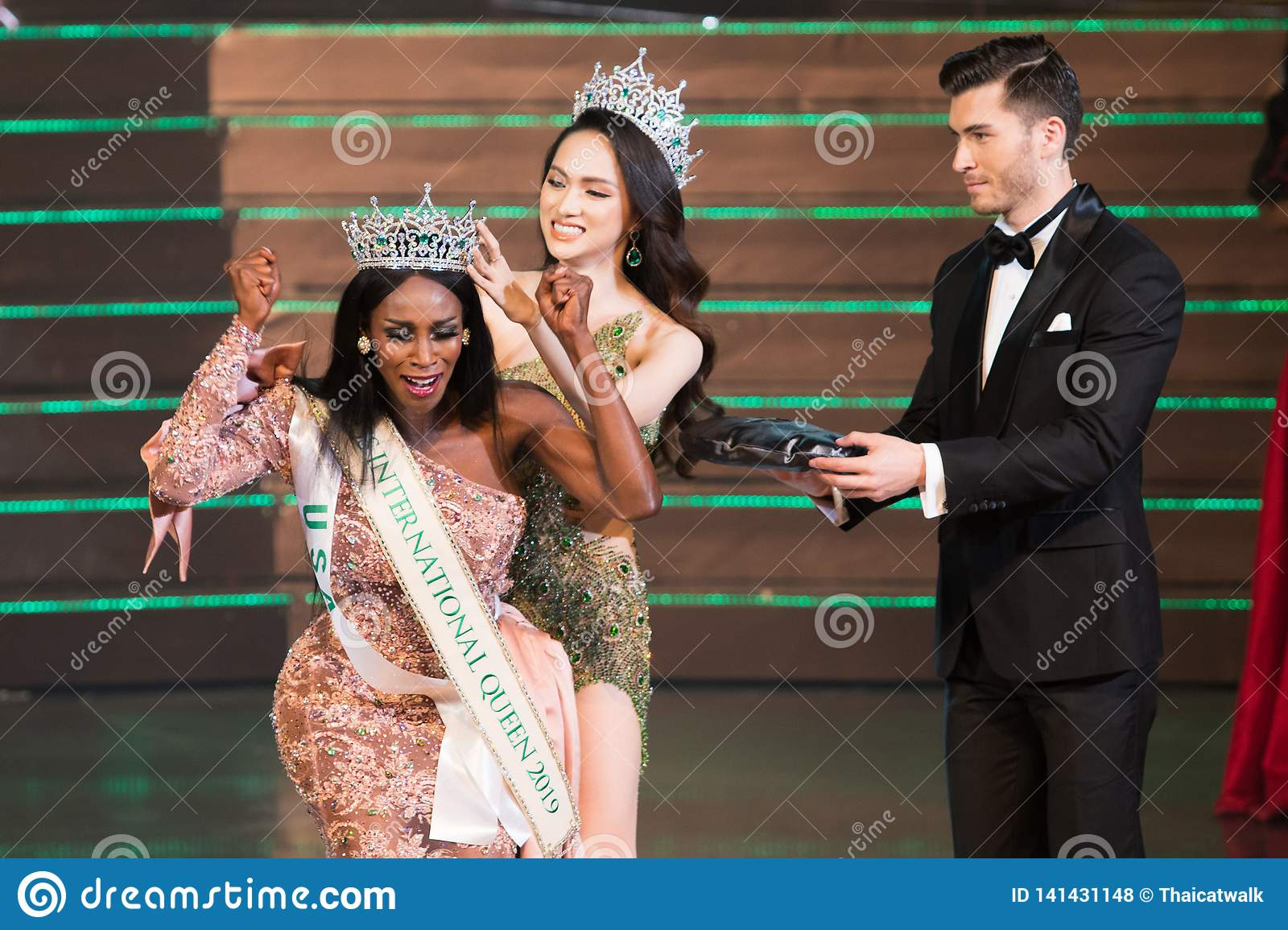 Miss International Queen Final Round Editorial Stock Photo - Image