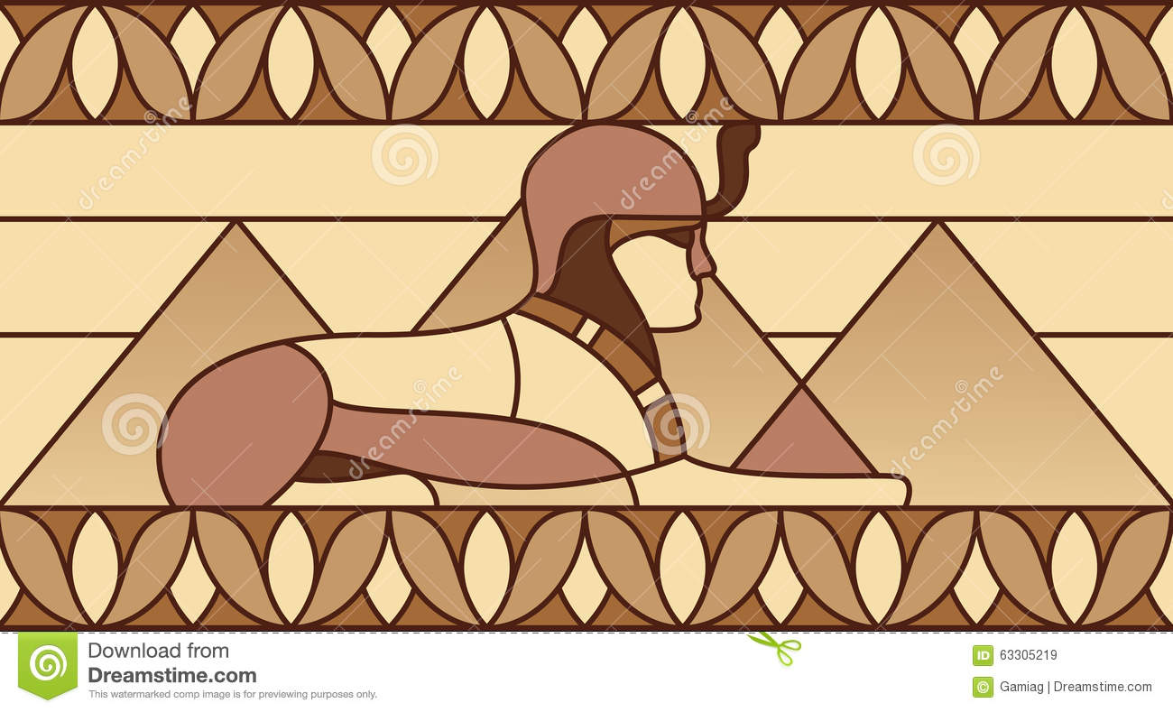 Pattern with ancient egyptian symbols stock illustration pattern with ancient egyptian symbols lotus archeology biocorpaavc