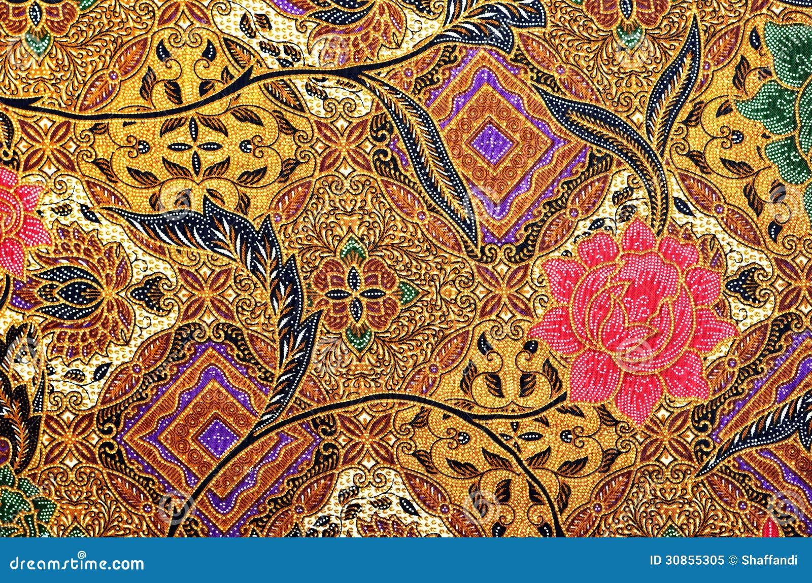 Pattern And Batik Textile Stock Illustration Illustration