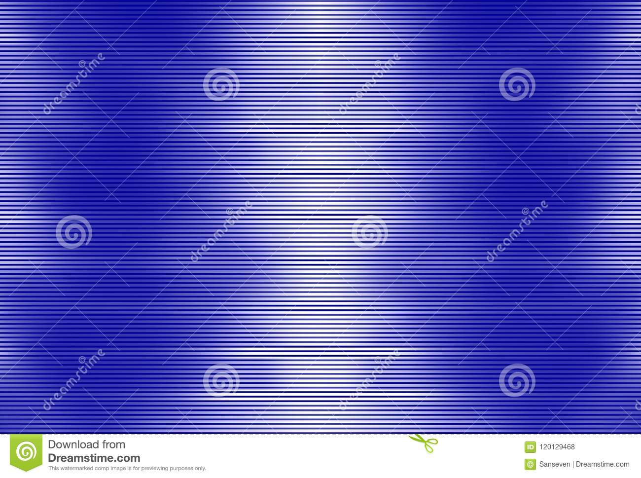 Pattern Of Blue Stripes On White Background