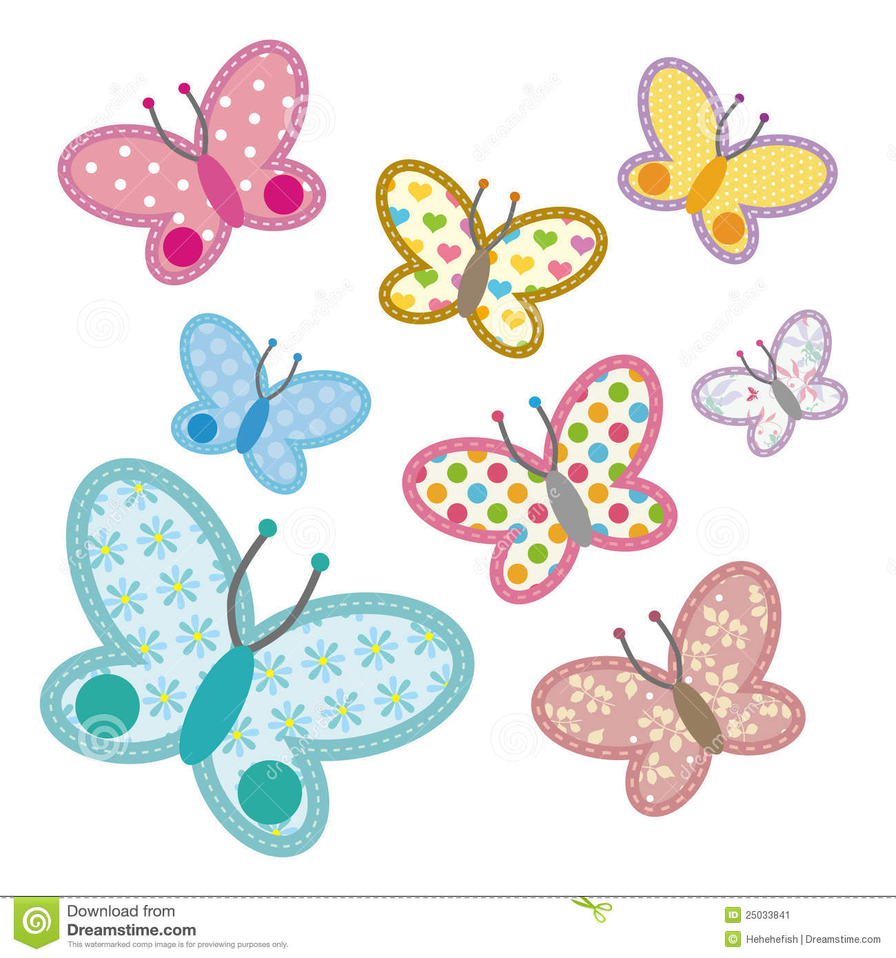 Applique Butterfly Design Free