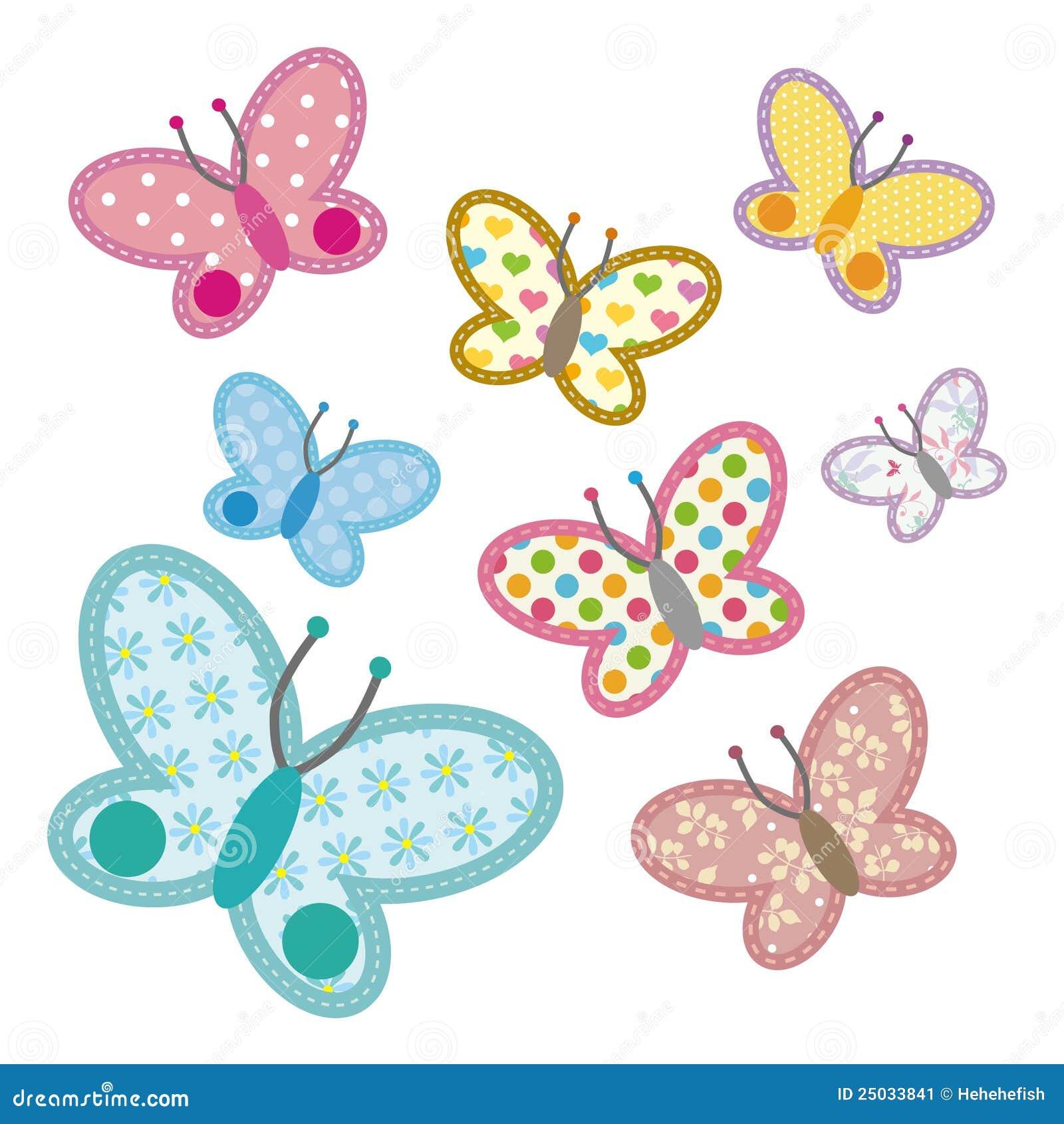 Pattern Butterfly Stock Image