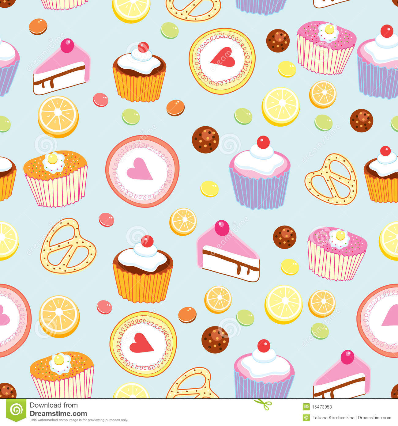 Design Patterns Of Cake : Pattern Of Cakes And Pastries Royalty Free Stock Photos ...