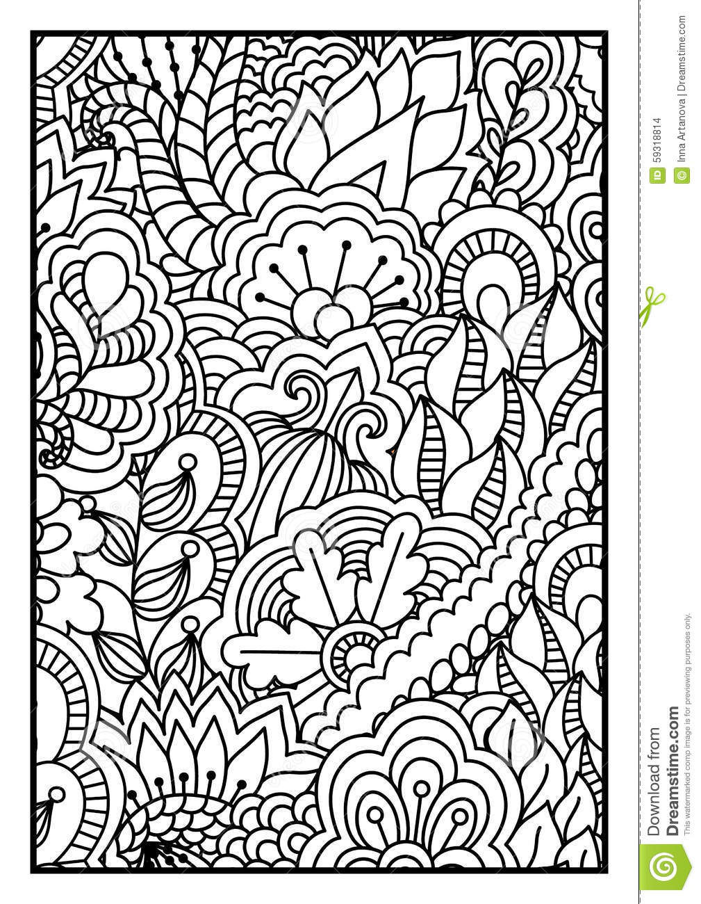 Celtic Kleurplaten Voor Volwassenen Pattern For Coloring Book Black And White Background With
