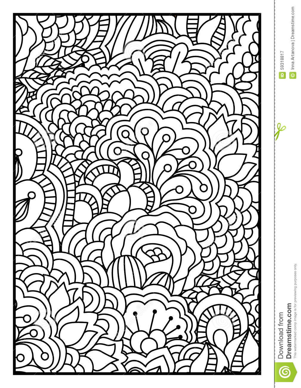 Background Black Book Coloring Design