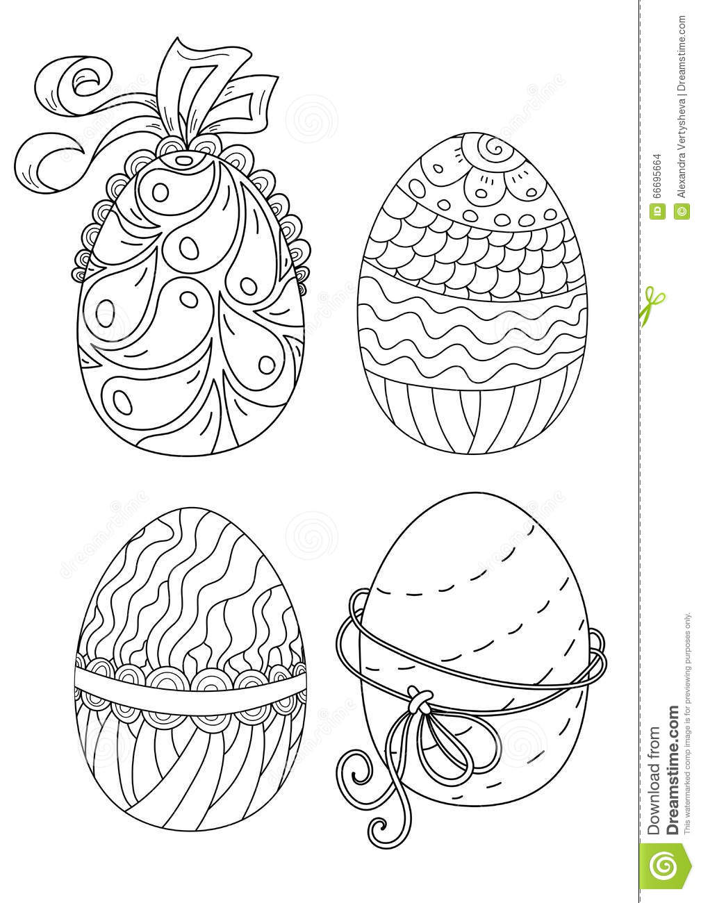 coloring pages ethnic children | Pattern For Coloring Book. Ethnic Retro Design Stock ...