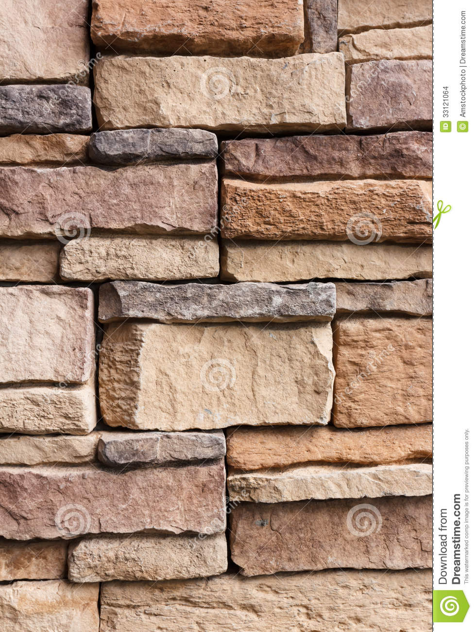 Stone Wall Pattern : Pattern cracked stone wall modern style for background
