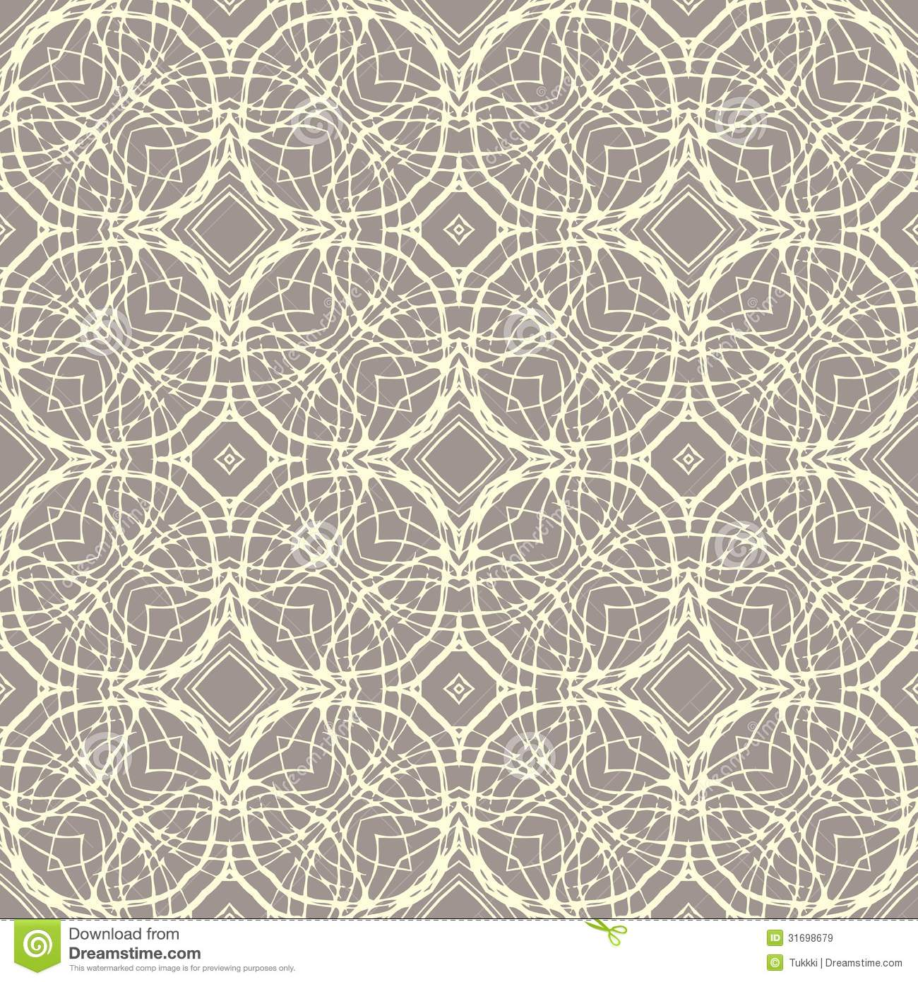 Pattern with decorative shapes in organic brown stock for Wallpaper home texture