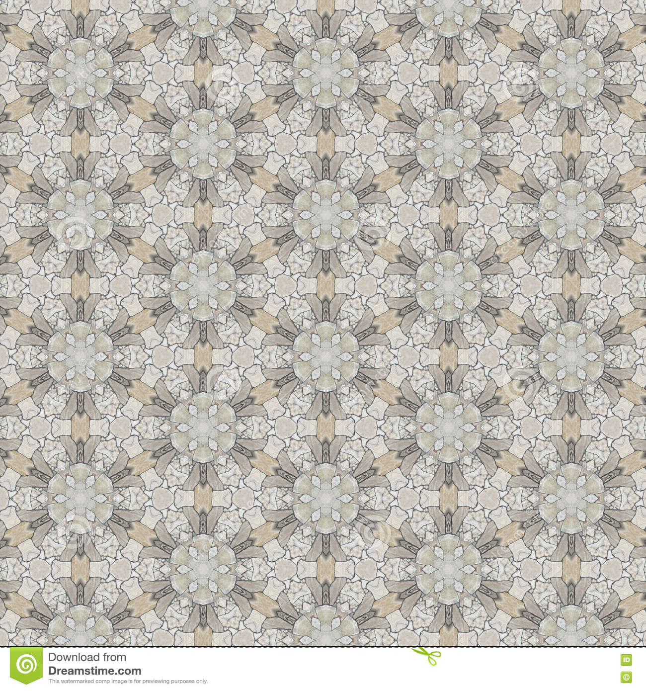 Pattern Design For Fabric Or Interior Wallpaper Stock Illustration ...
