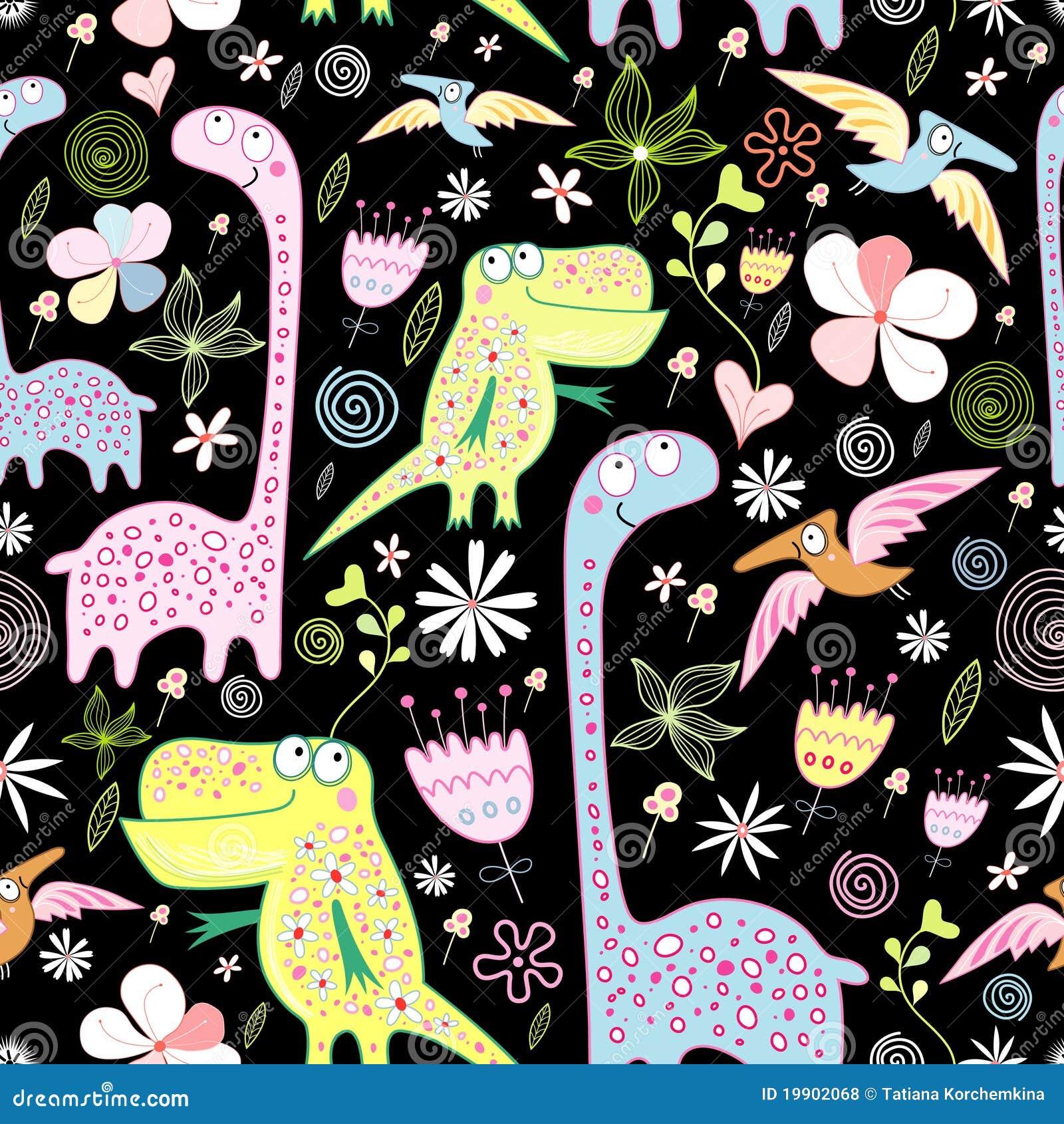 Pattern of dinosaurs