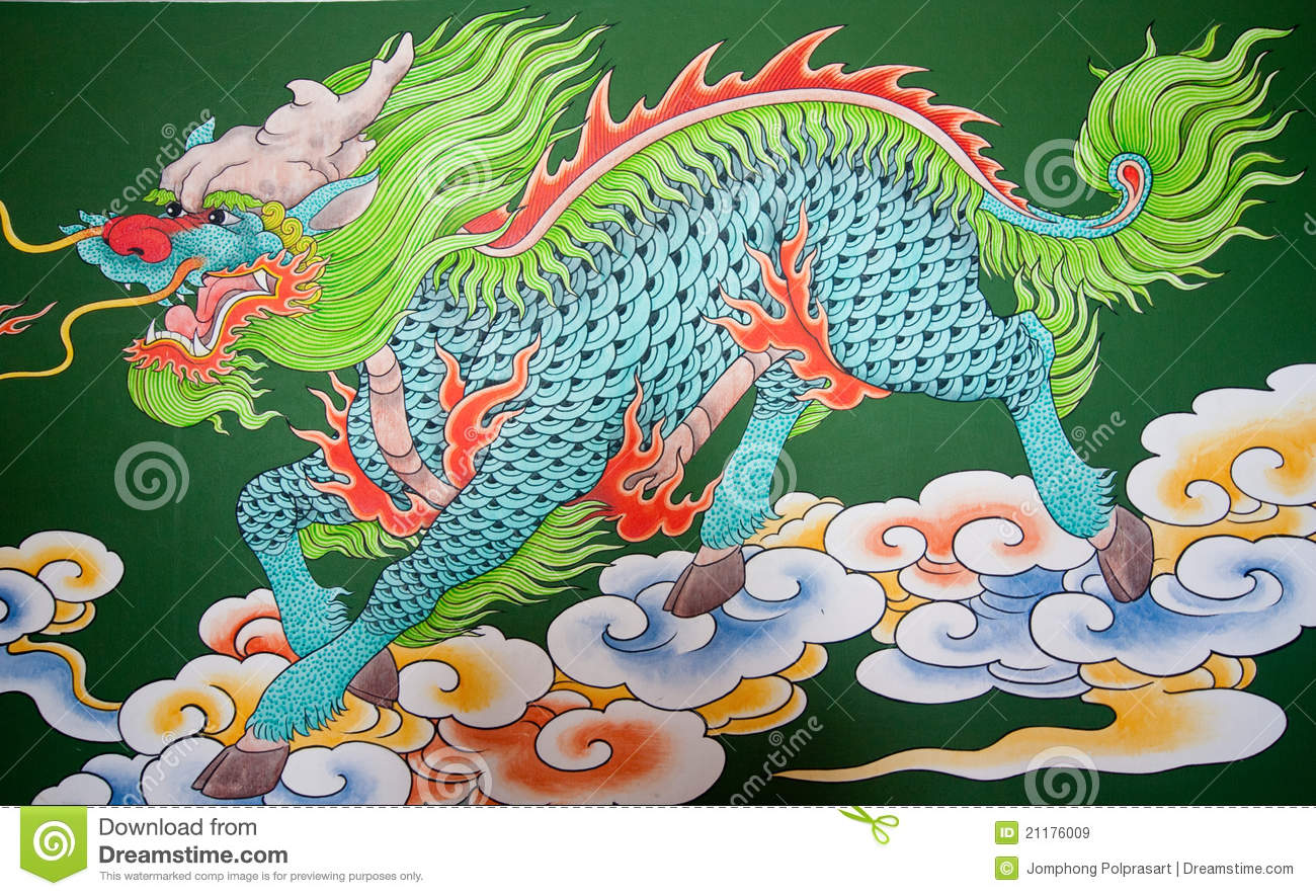 Pattern of dragon