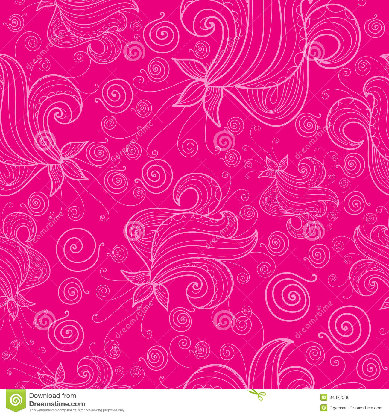 Fashion week Flower Pink background pattern pictures for girls