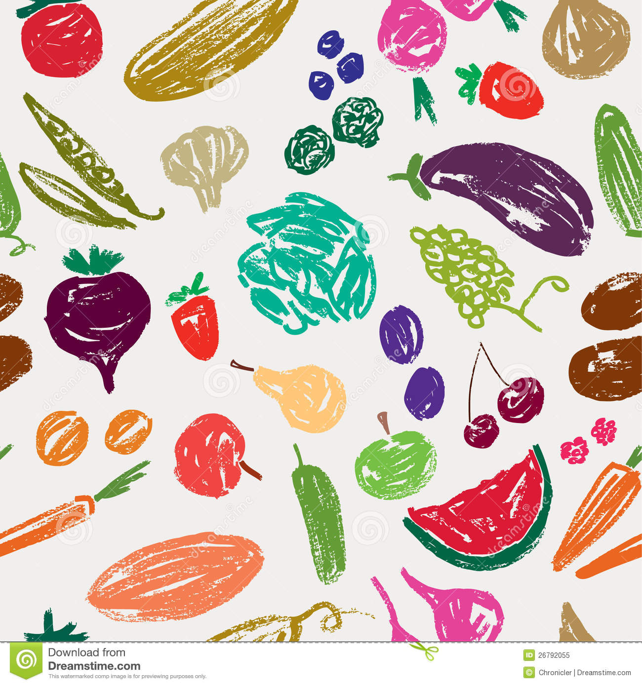 Vegetable pattern - photo#18