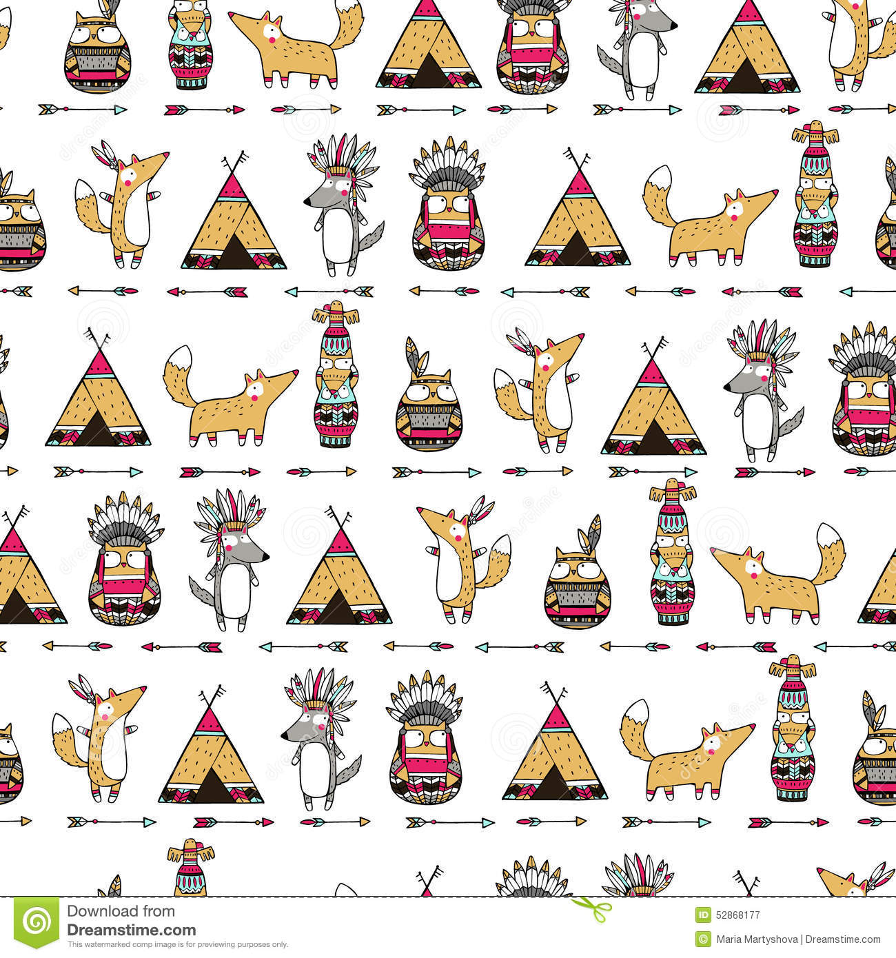 Native American Designs And Patterns Kids
