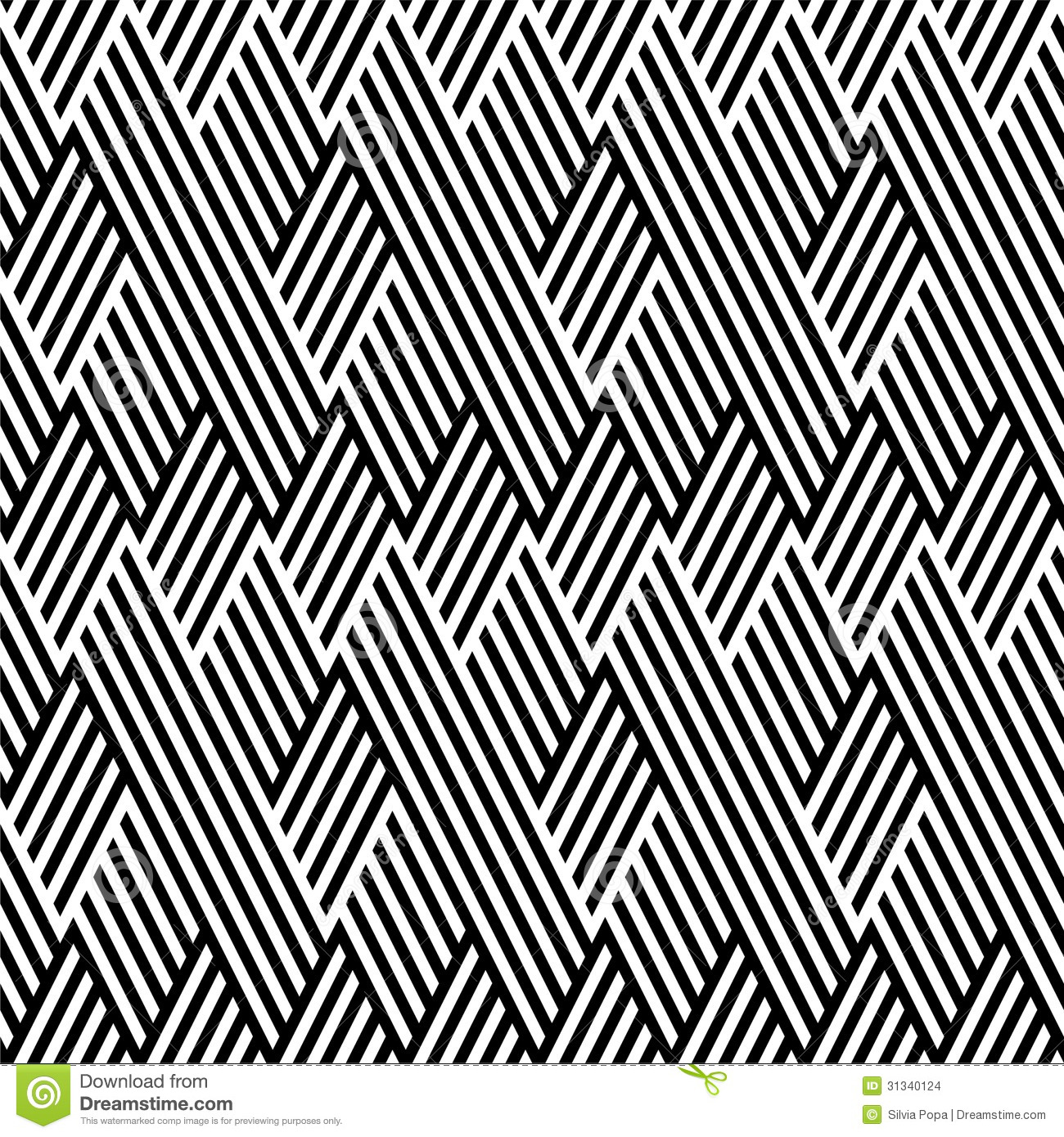 Black And White Line Designs : Pattern with line black and white stock illustration