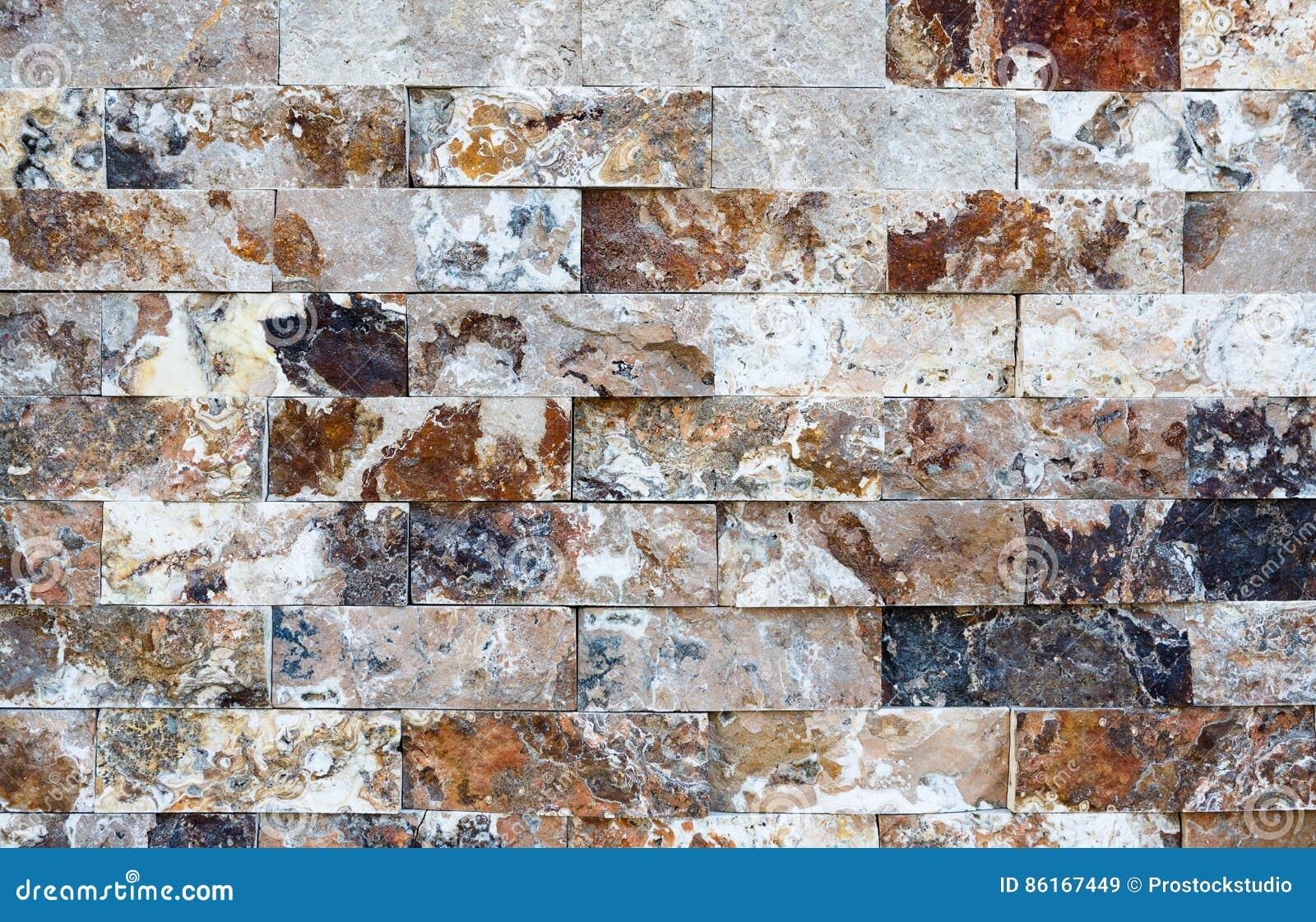 Decorative Brick Walls : Pattern of marble stone decorative brick wall texture and