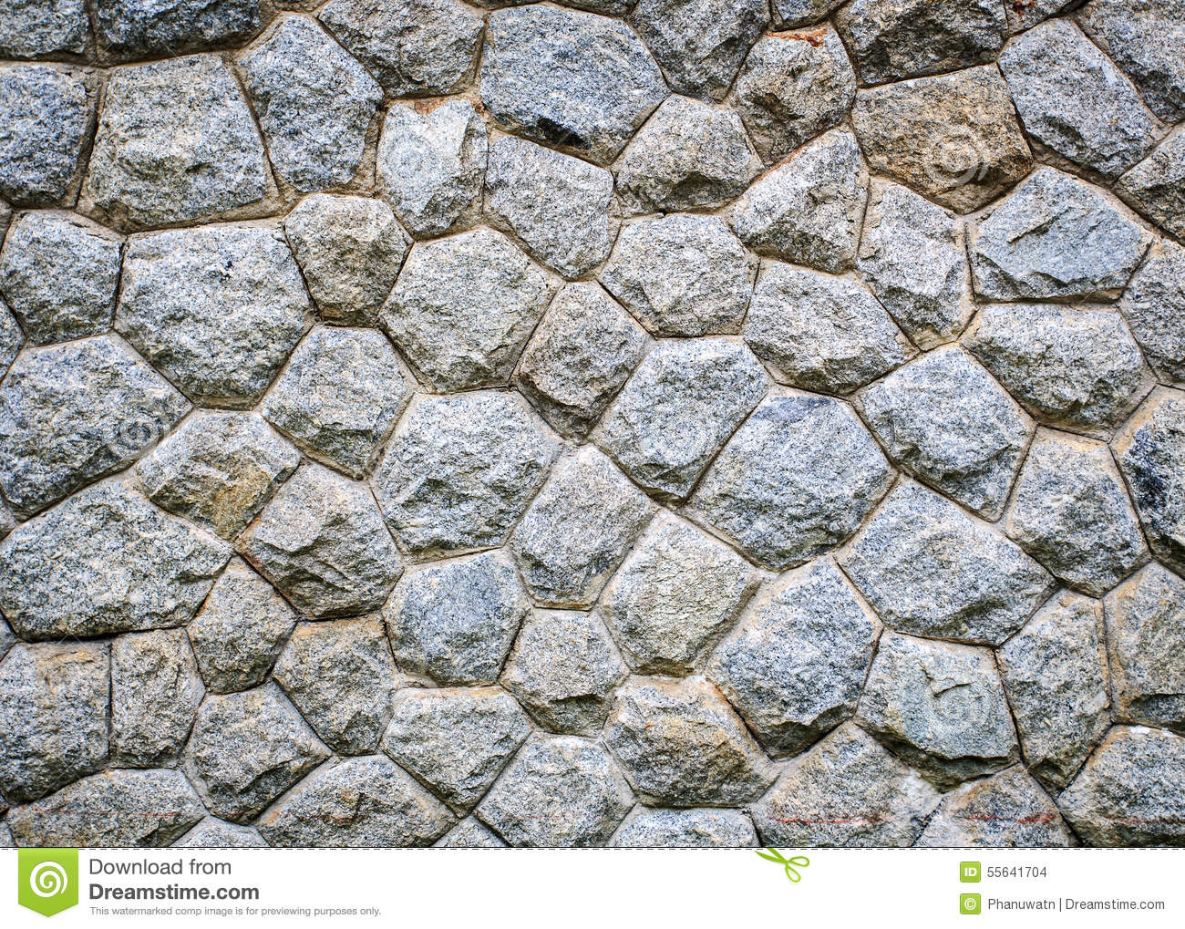 Natural Stone Texture : Pattern of natural stone wall texture stock photo image