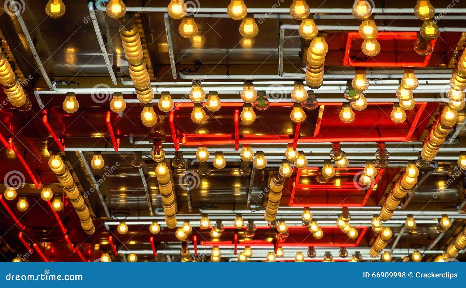 Pattern Of Neon Lights Flashing In Las Vegas Editorial Stock Photo ...