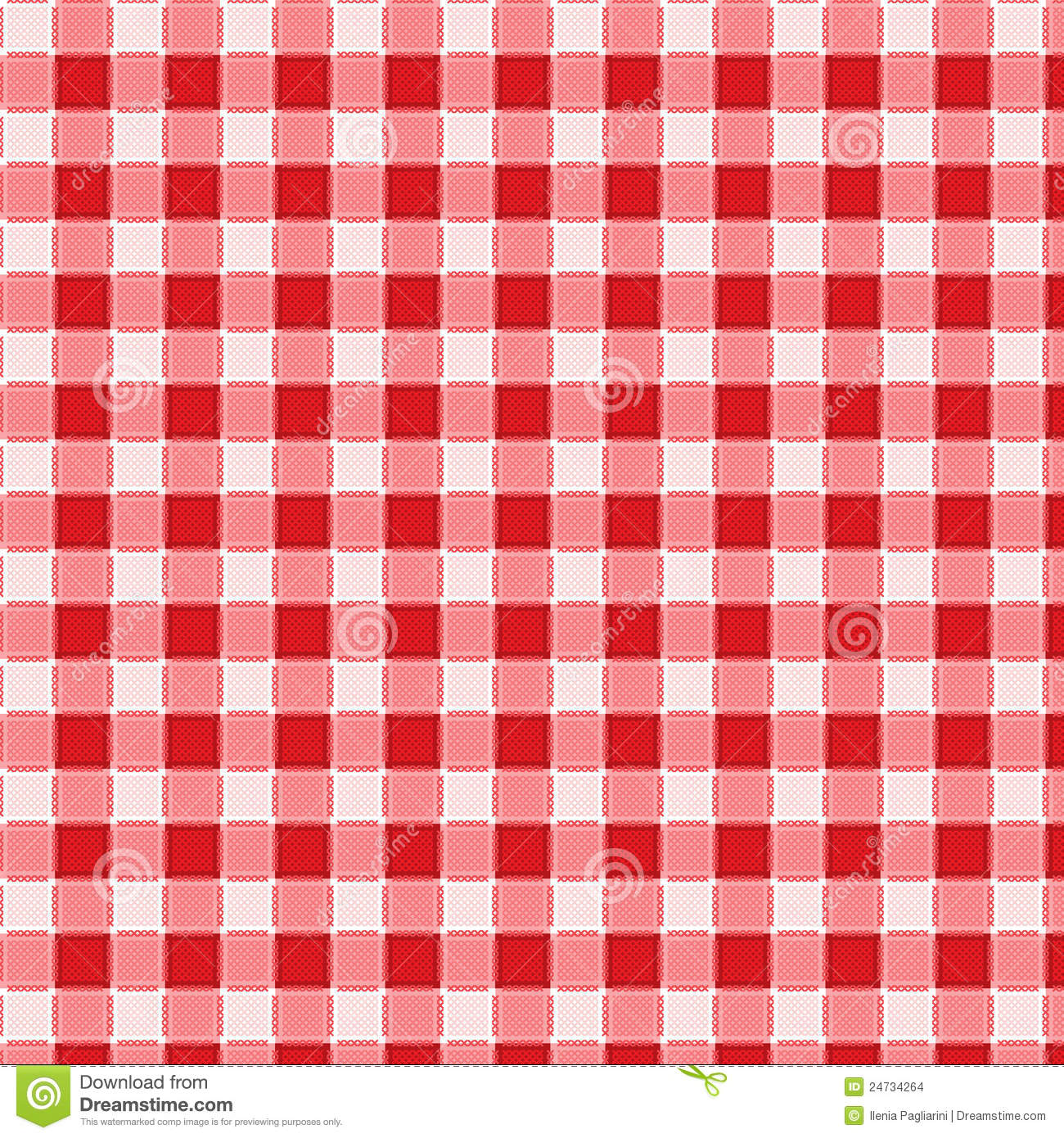 Pattern Picnic Tablecloth Vector Stock Images