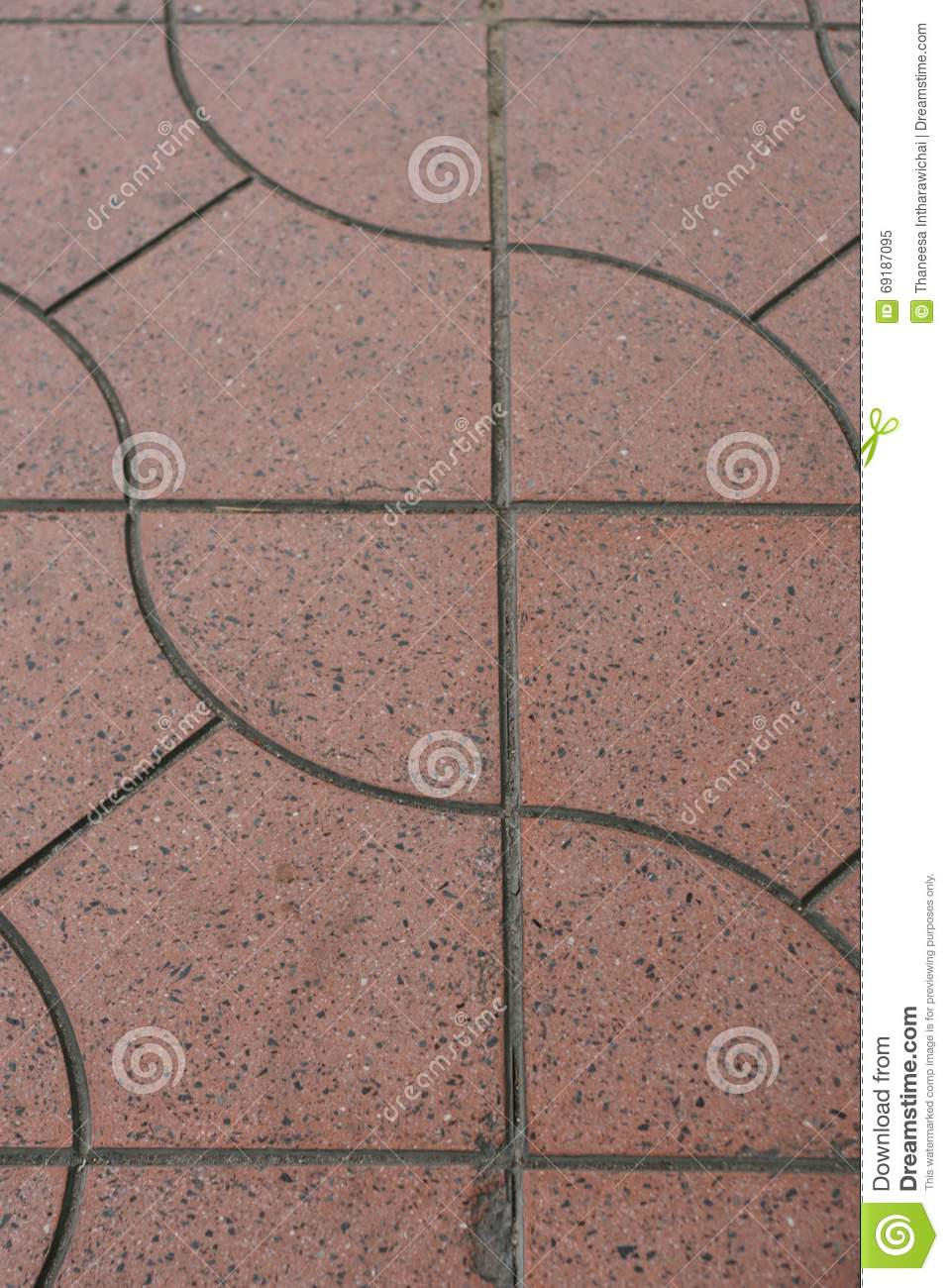 Pattern of red floor tiles stock image image of path 69187095 pattern of red floor tiles dailygadgetfo Choice Image