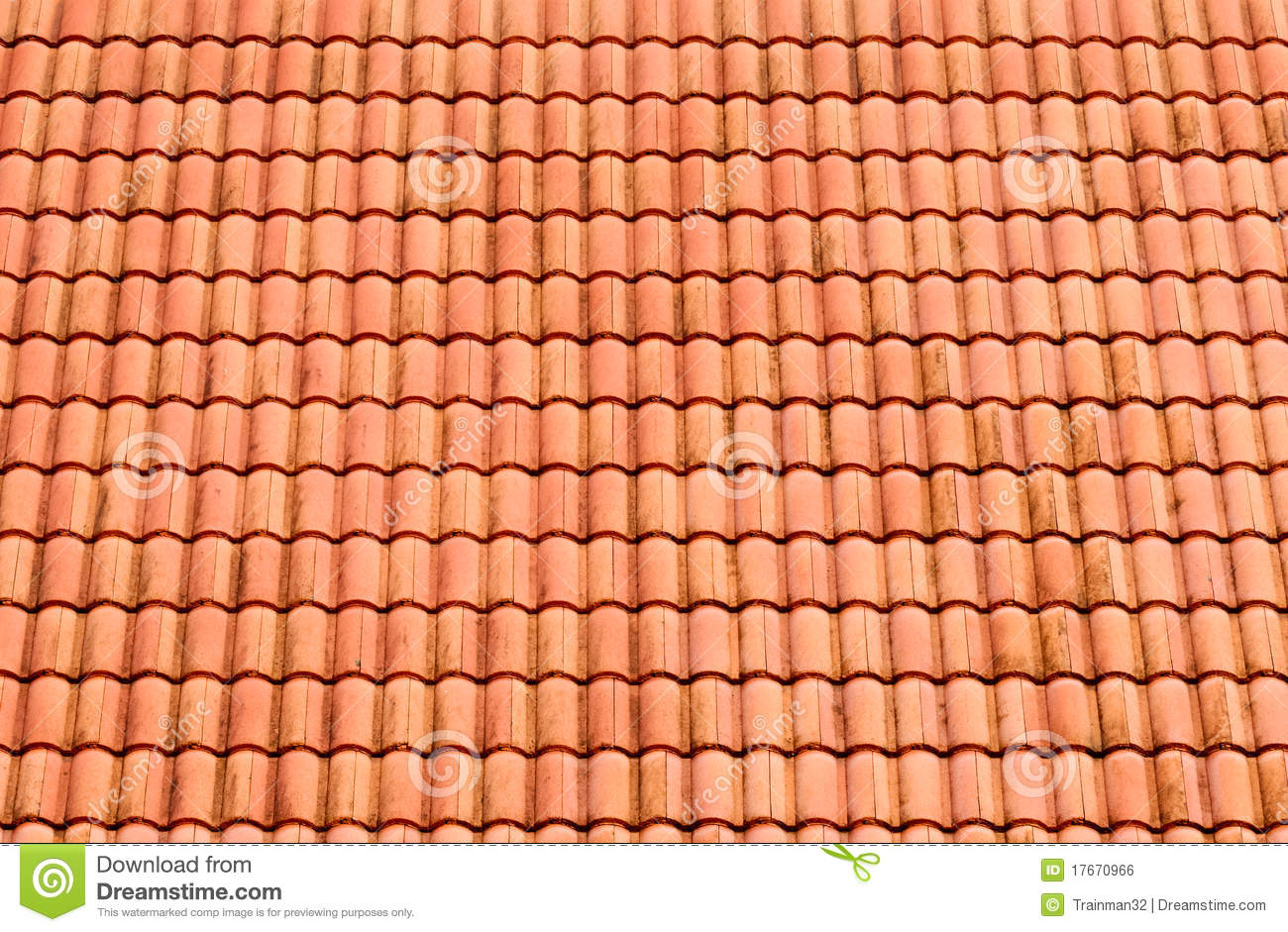 Royalty Free Stock Photo. Download Pattern Of Red Roof Tiles ...