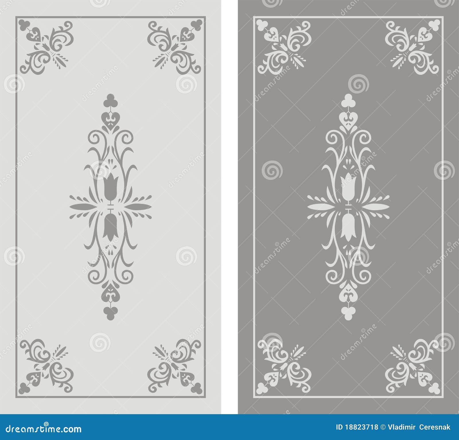 Pattern Of Sandblasted Window Stock Vector Illustration